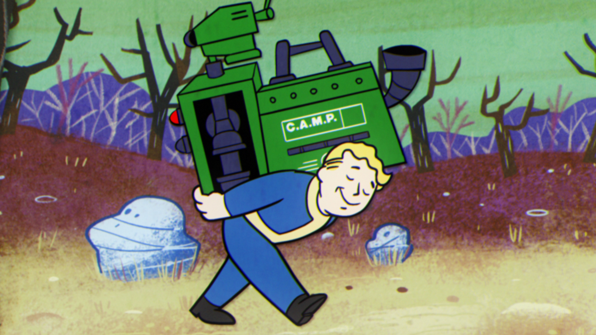 Image Media for Fallout 76 — A New American Dream: Laying the Cornerstones
