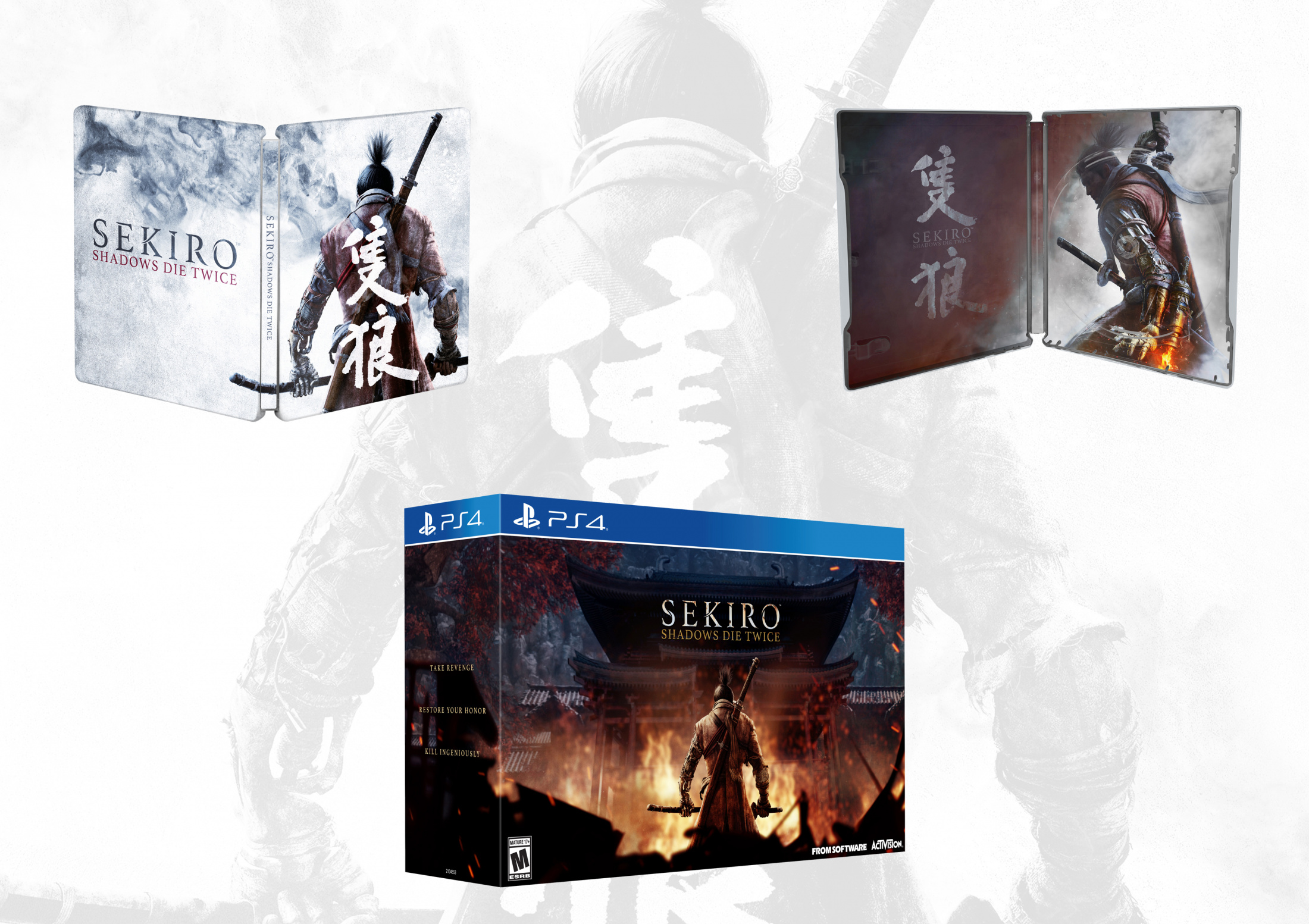 Thumbnail for Sekiro: Shadows Die Twice- Packaging