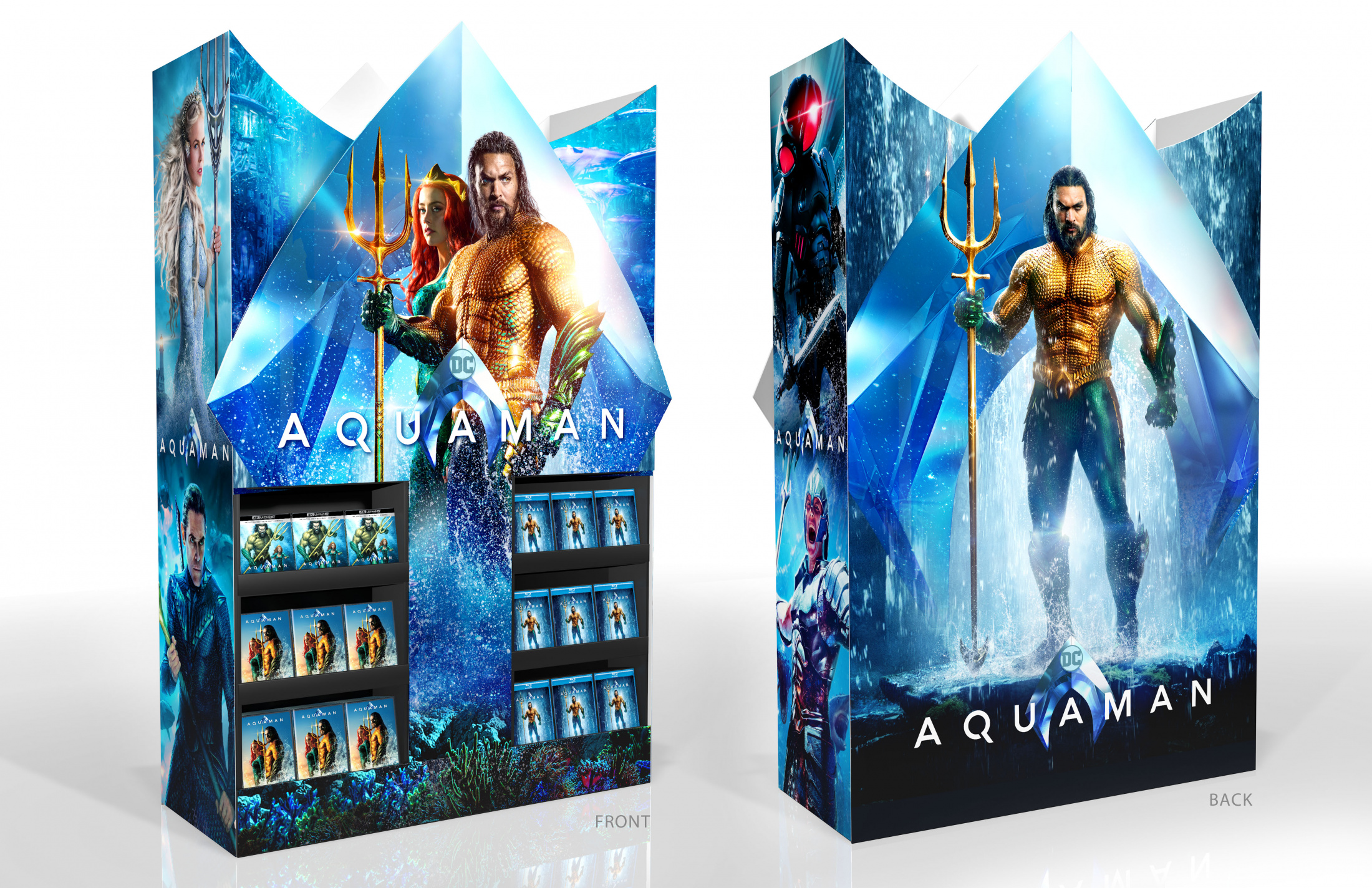 Thumbnail for Aquaman Home Entertainment Best Buy Display Mini Wow Cube