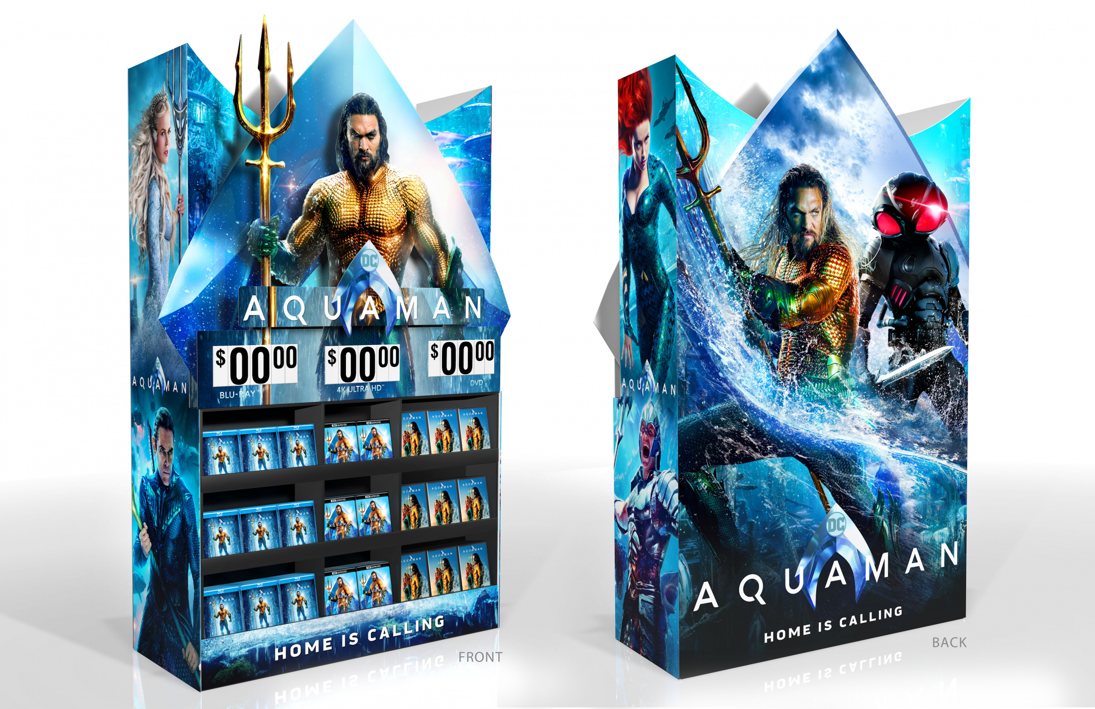 Image Media for Aquaman Home Entertainment Walmart Display Mini Wow Cube