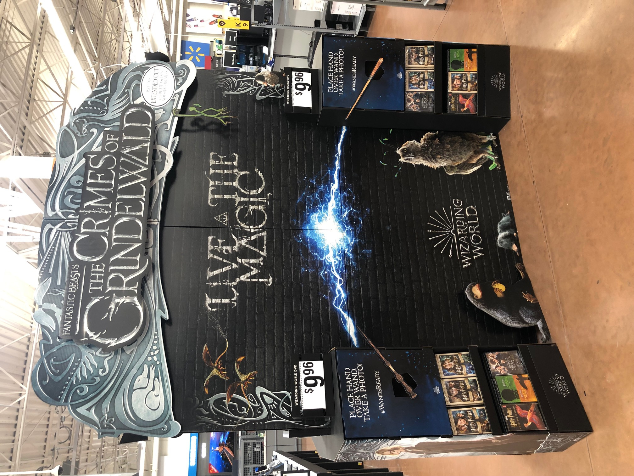 Image Media for Fantastic Beasts: The Crimes of Grindewald WOW Display