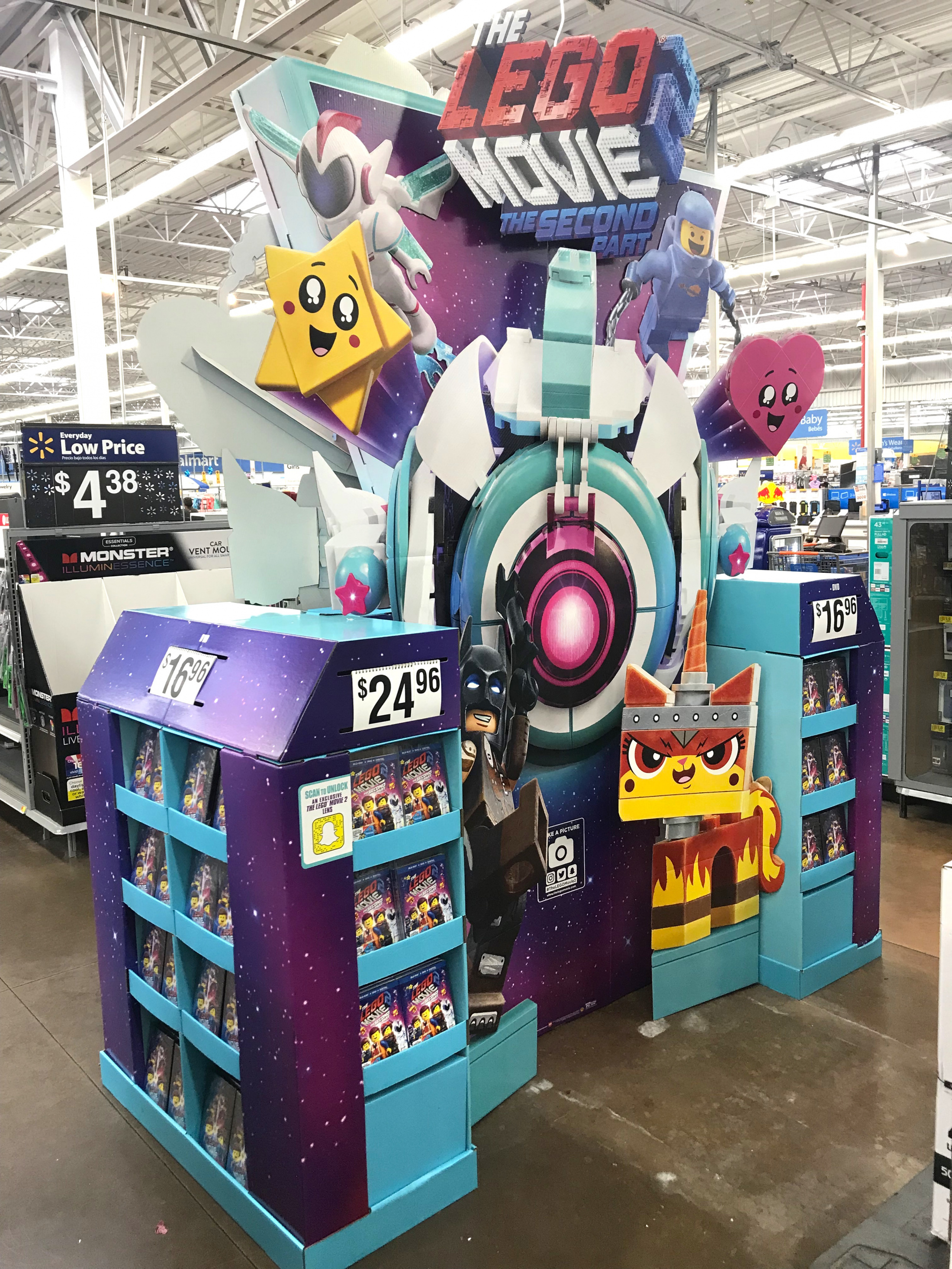Thumbnail for LEGO Movie 2 Walmart WOW Display