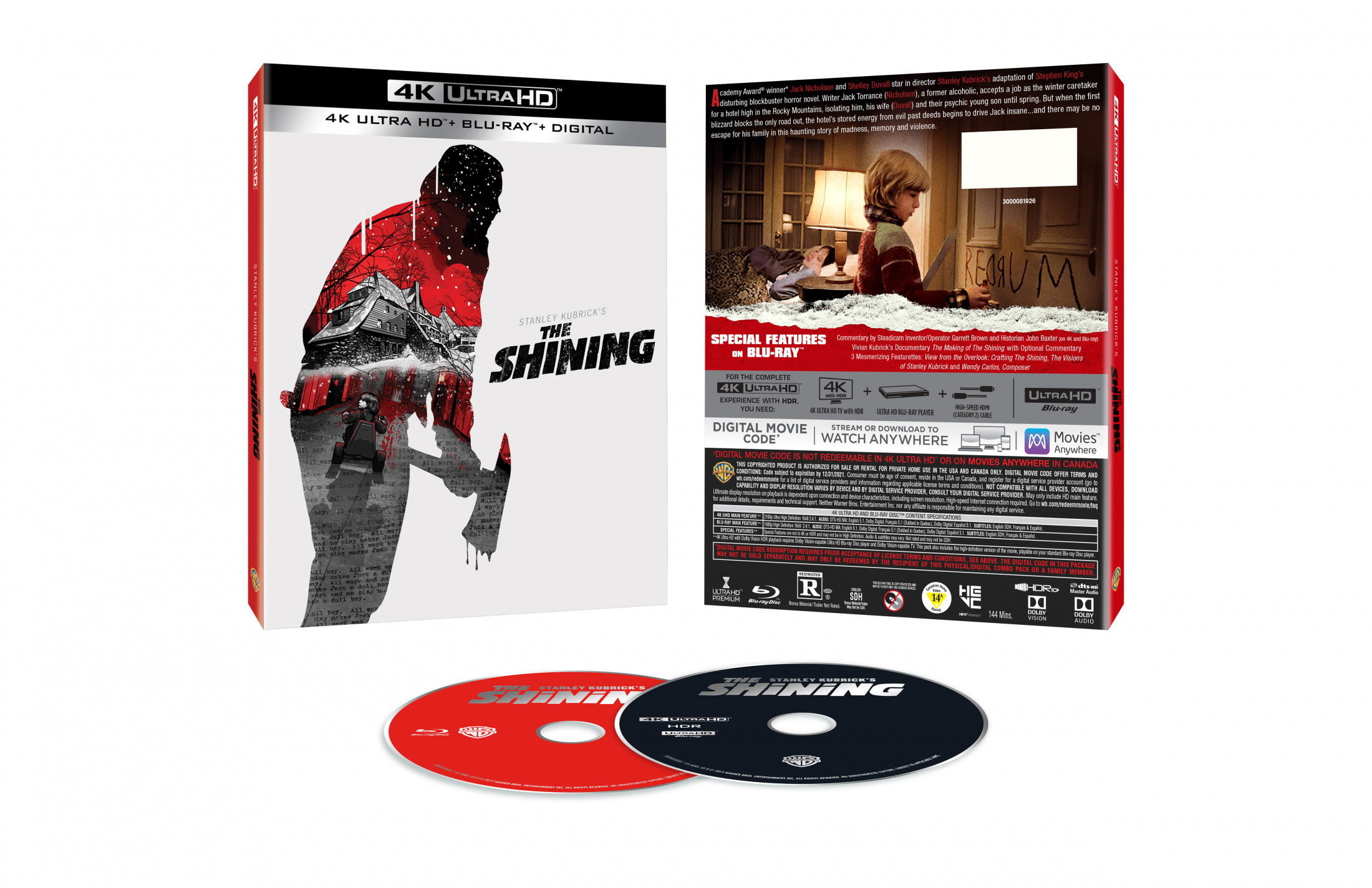 Thumbnail for The Shining 4K O-Slipcase