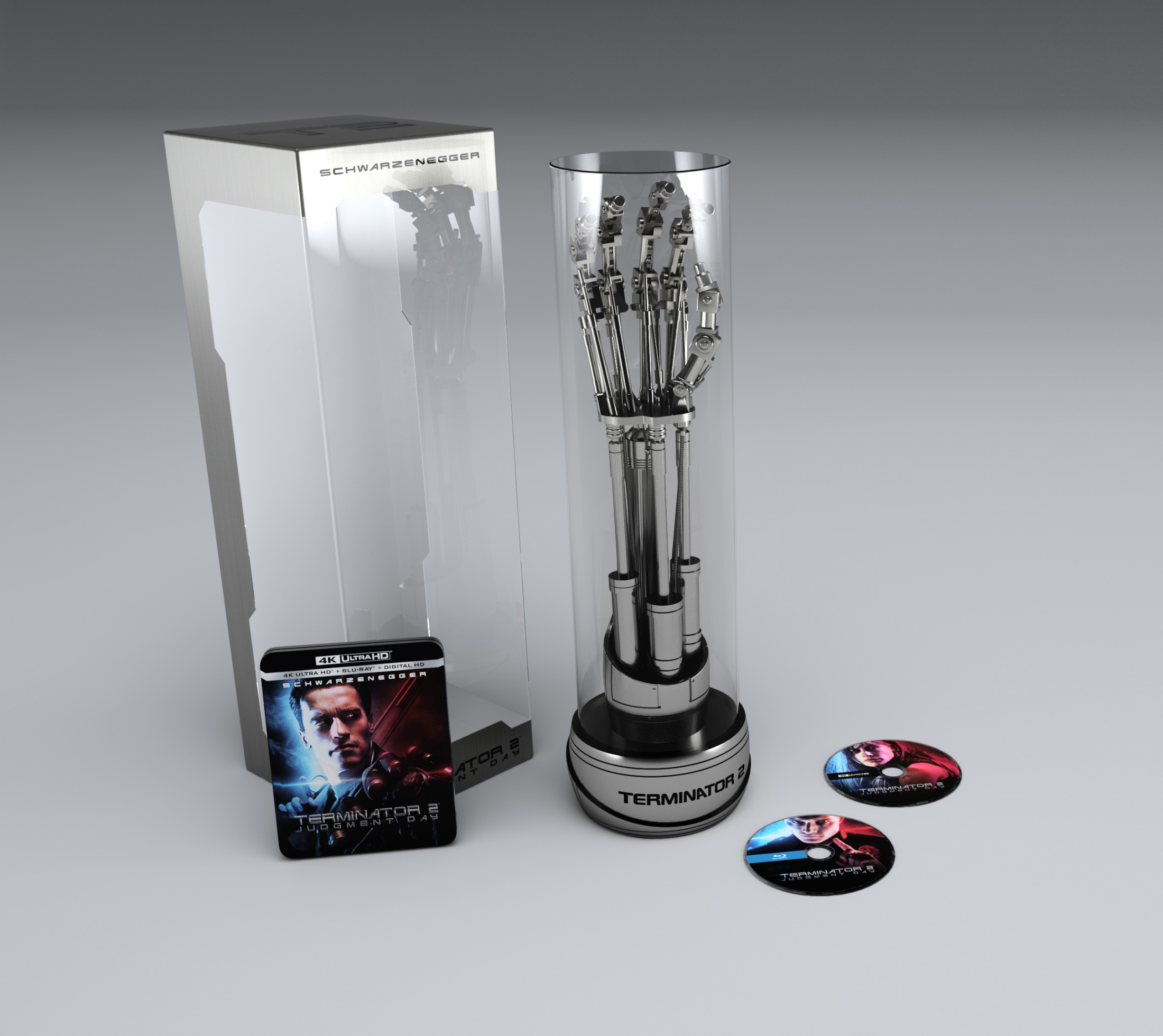 Image Media for Terminator 2: Judgment Day 4K UHD - Endoarm Collector's Edition