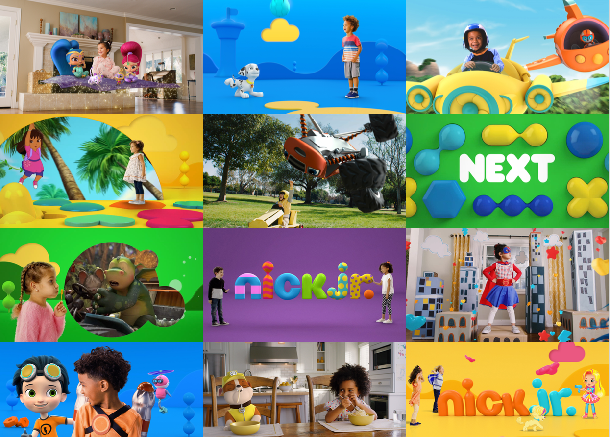 Image Media for Nick Jr Reband Compilation