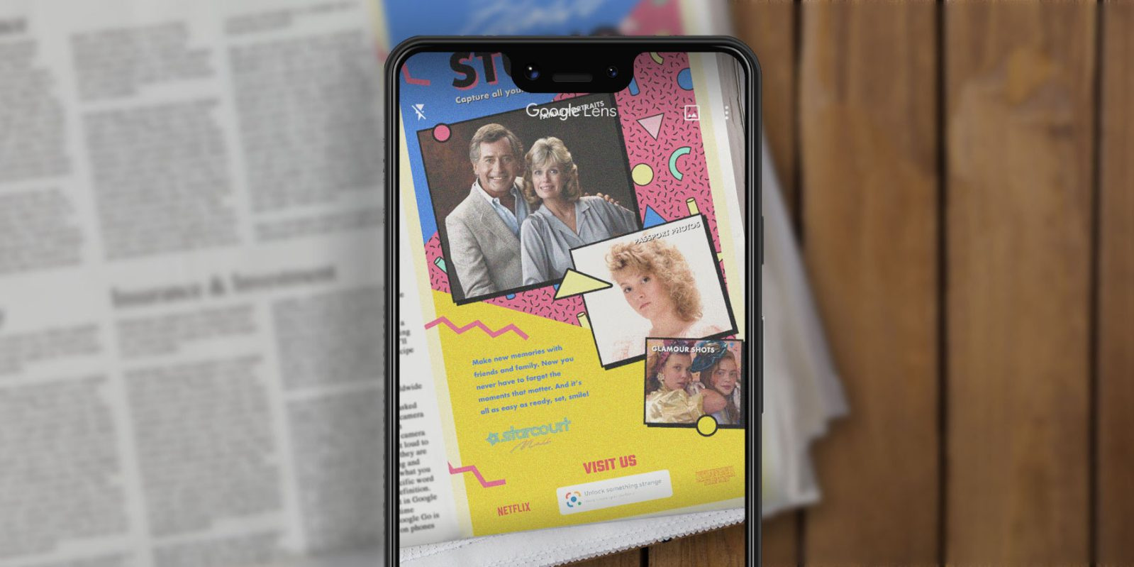 Image Media for Google Lens: Stranger Things Ads