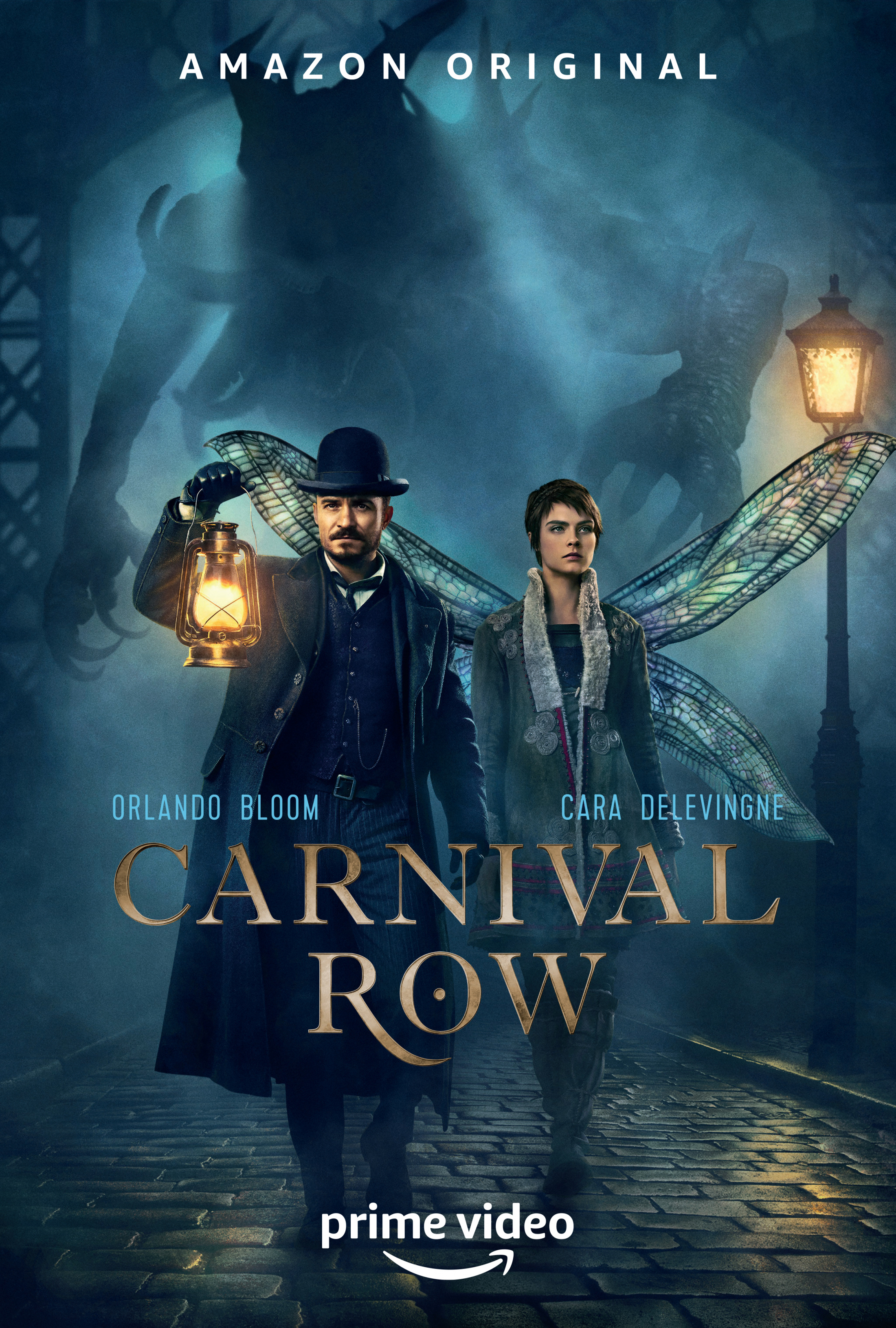 Image Media for Carnival Row Campaign