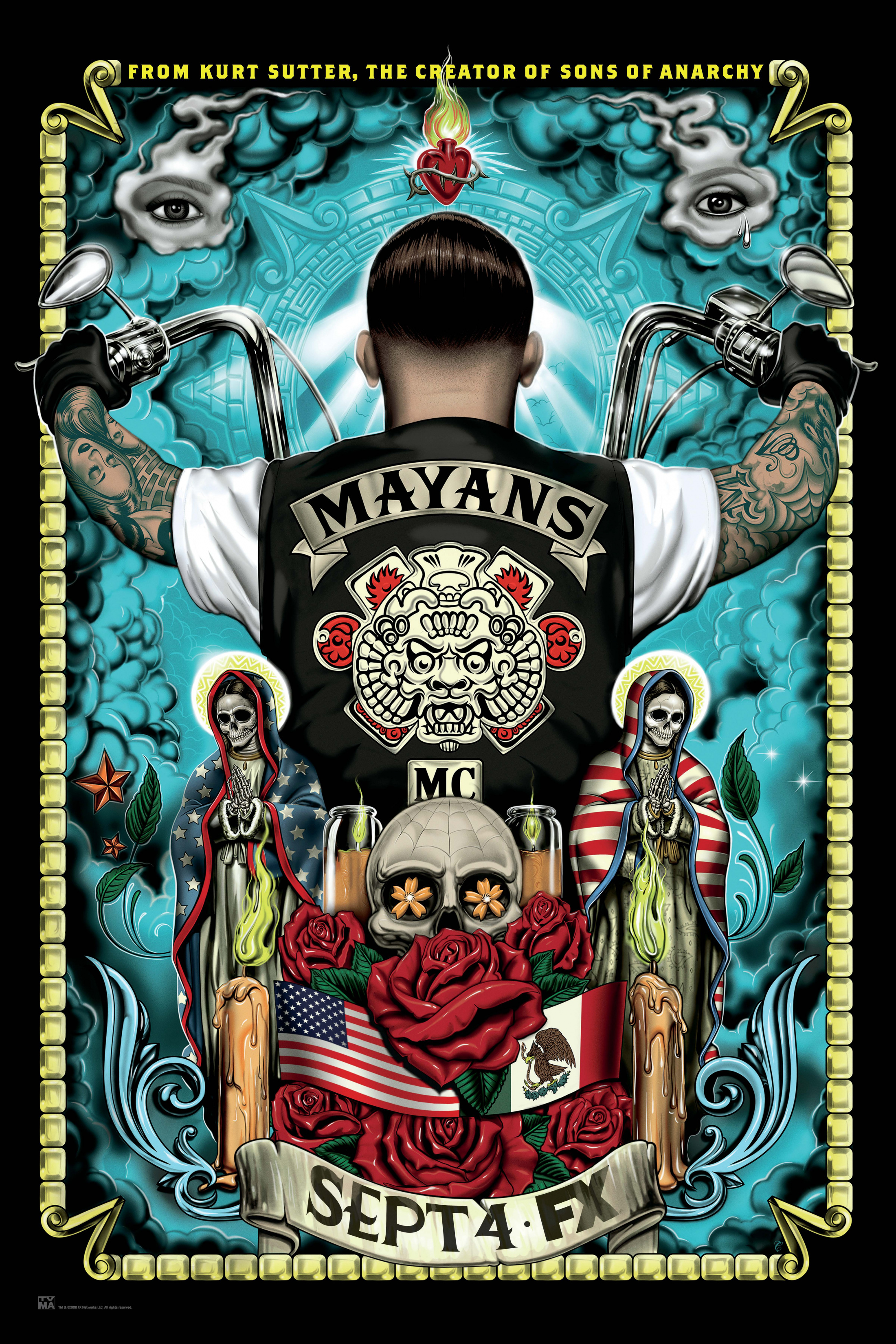 Image Media for Mayans M.C. - Key Art 3