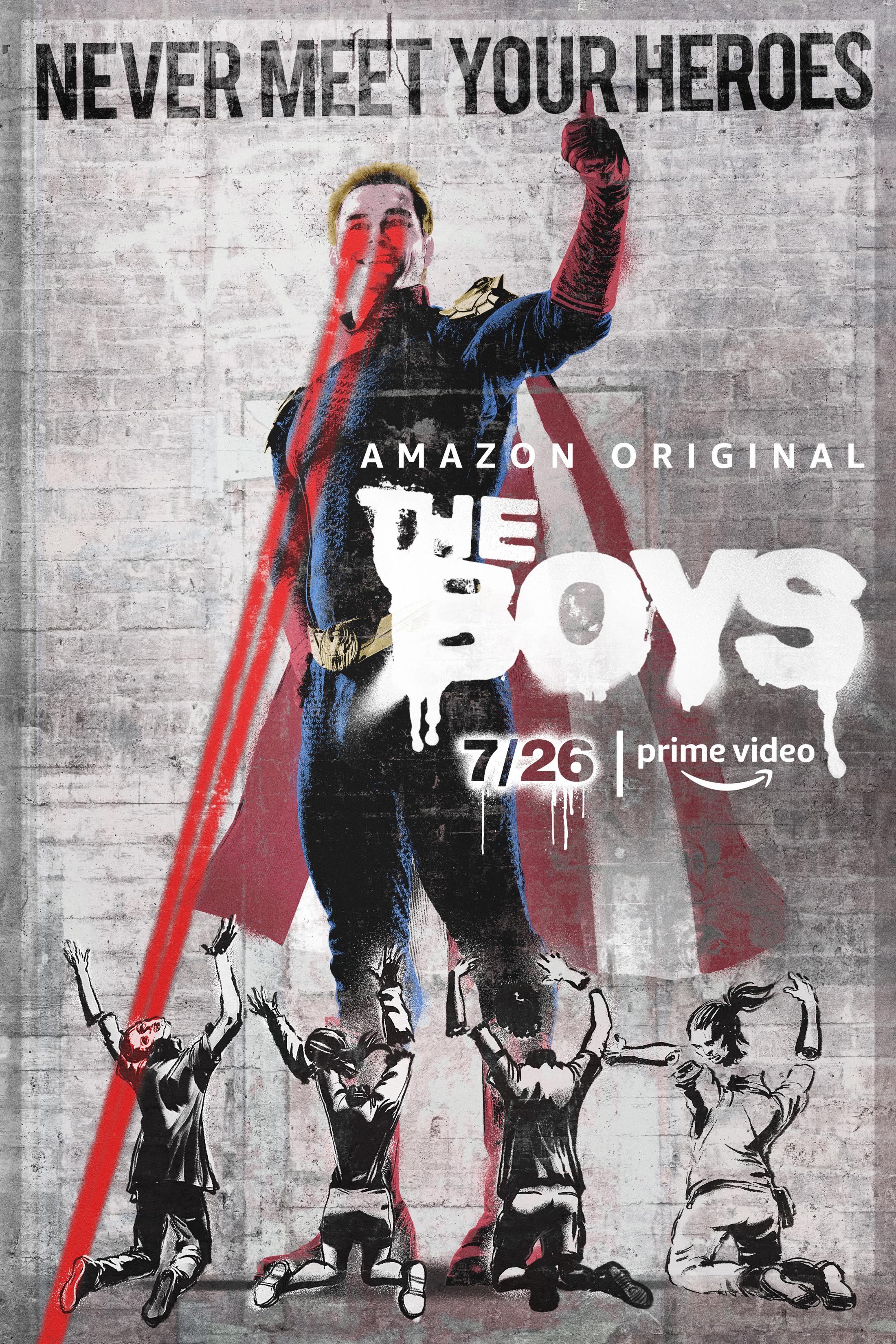 Thumbnail for The Boys Key Art - Homelander