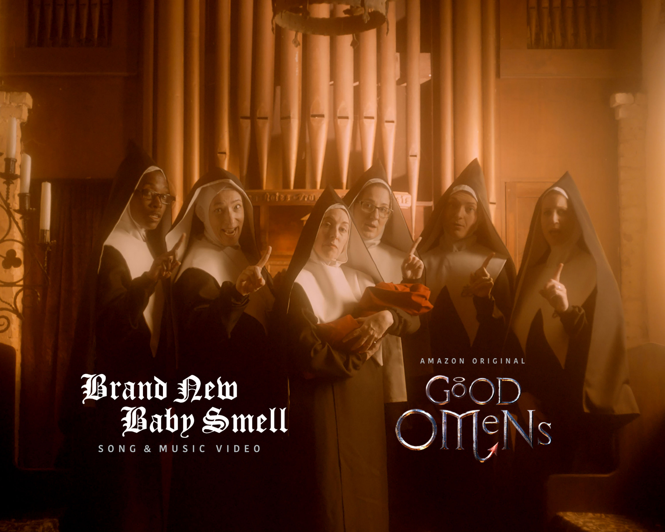 Thumbnail for Brand New Baby Smell : Good Omens Music Video
