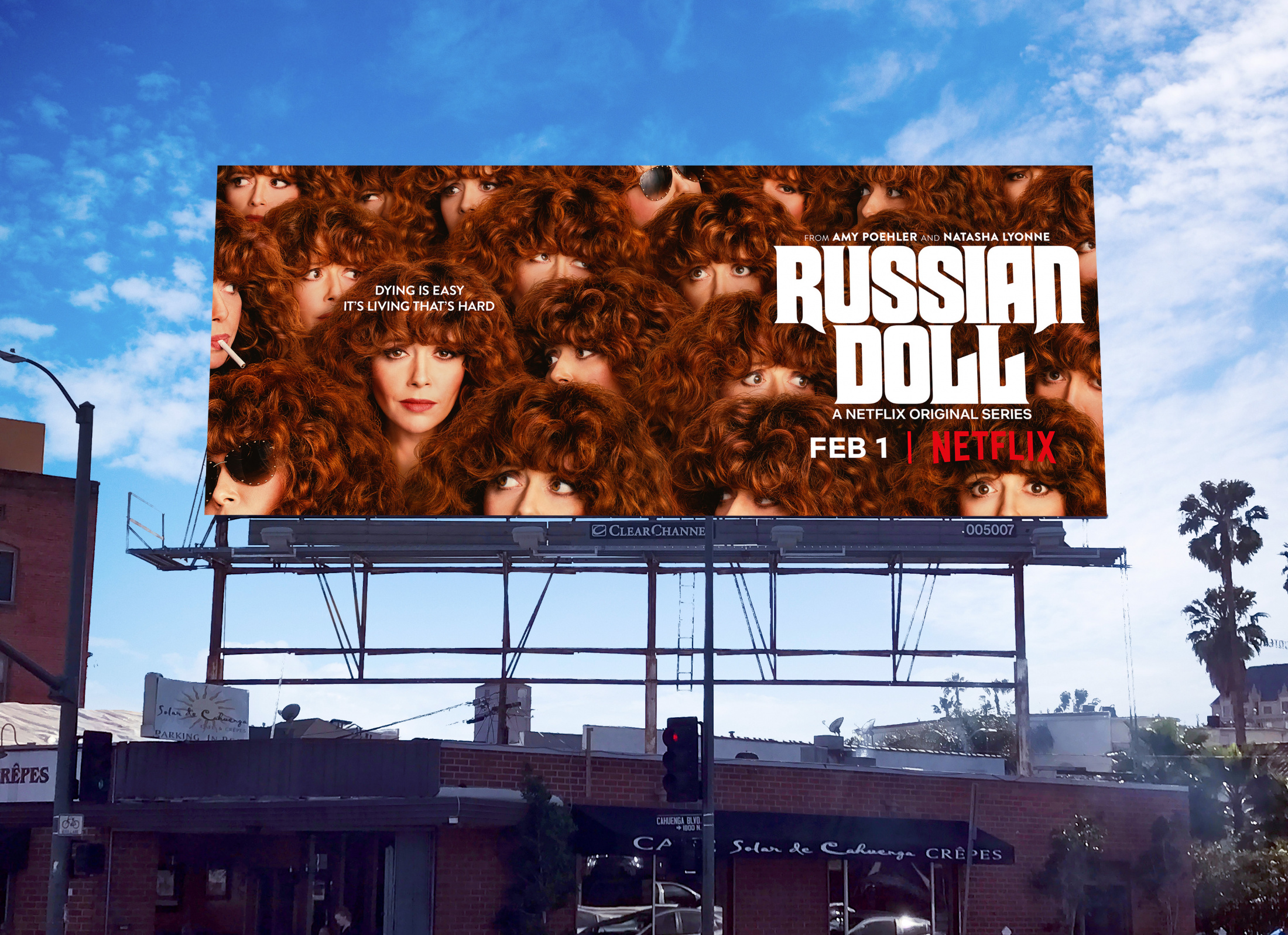 Image Media for Russian Doll OOH Key Art