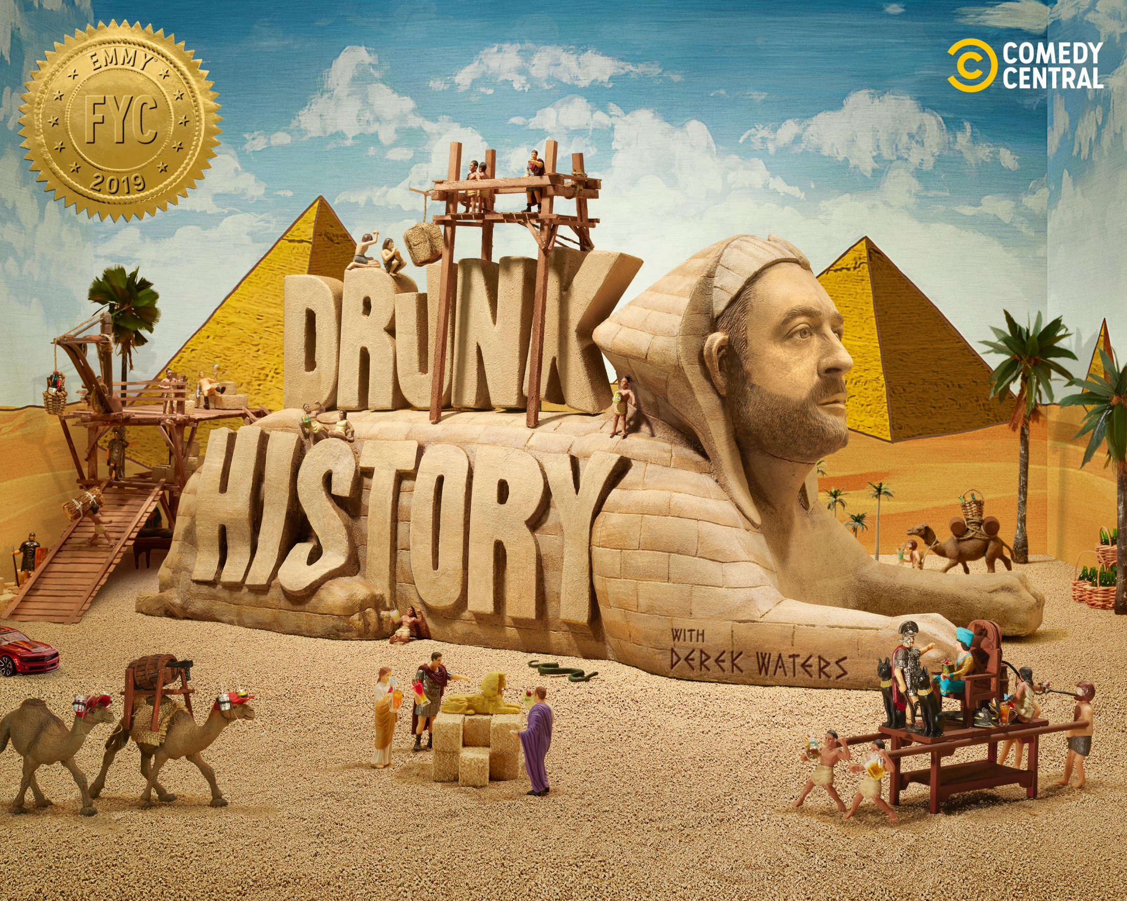 Thumbnail for Drunk History: FYC Beer Mug