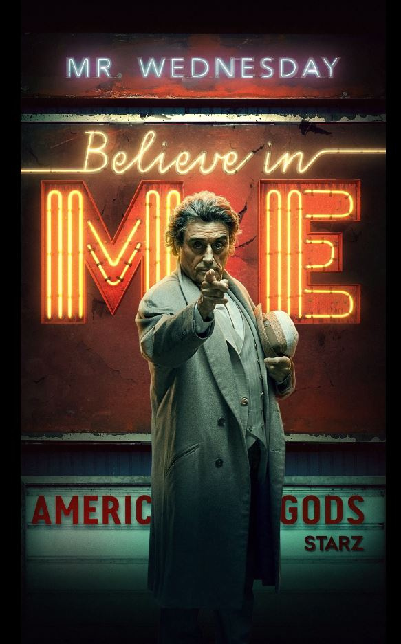 Image Media for American Gods S2 OOH (Motion Posters)