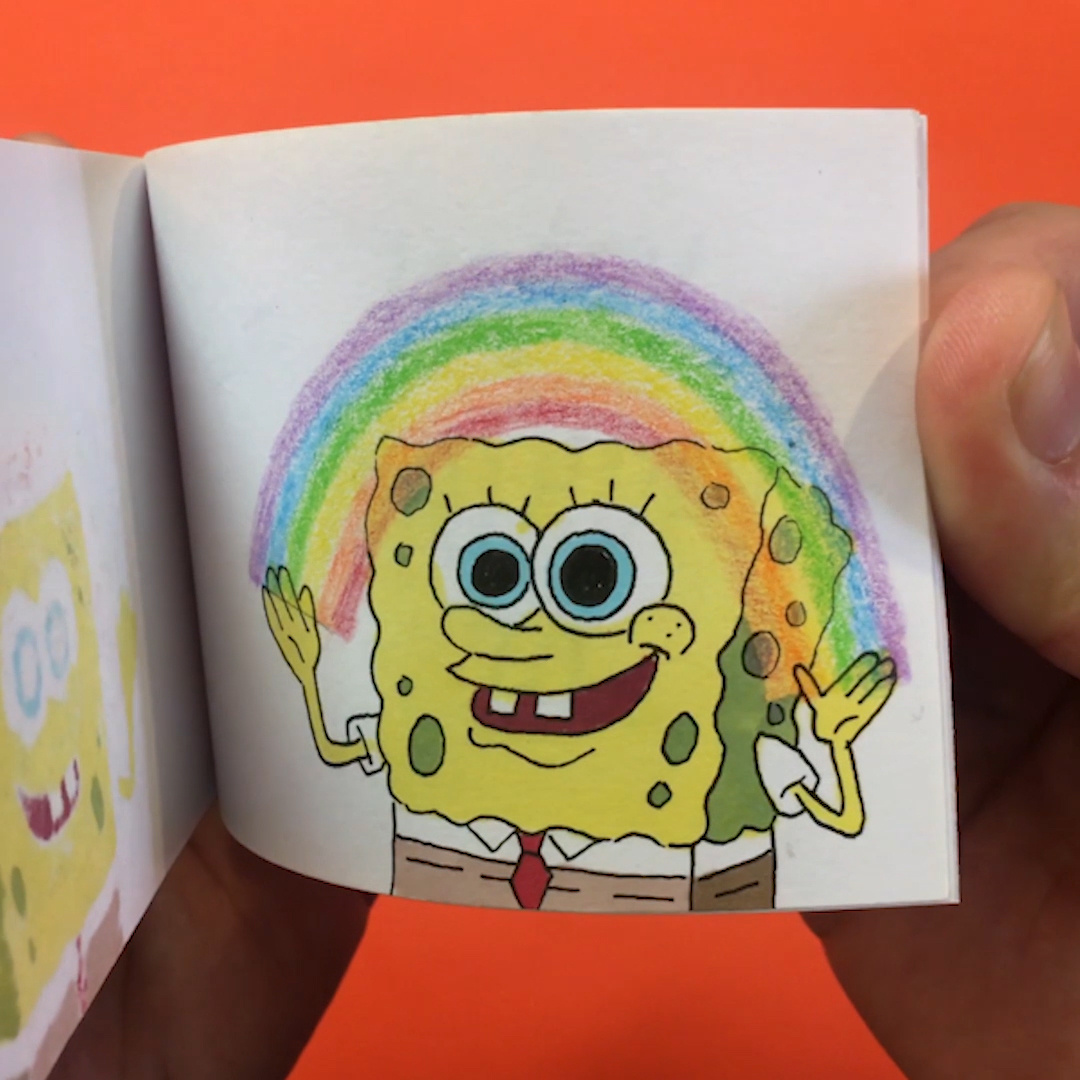 Thumbnail for Nickelodeon's Birthday Flip Book