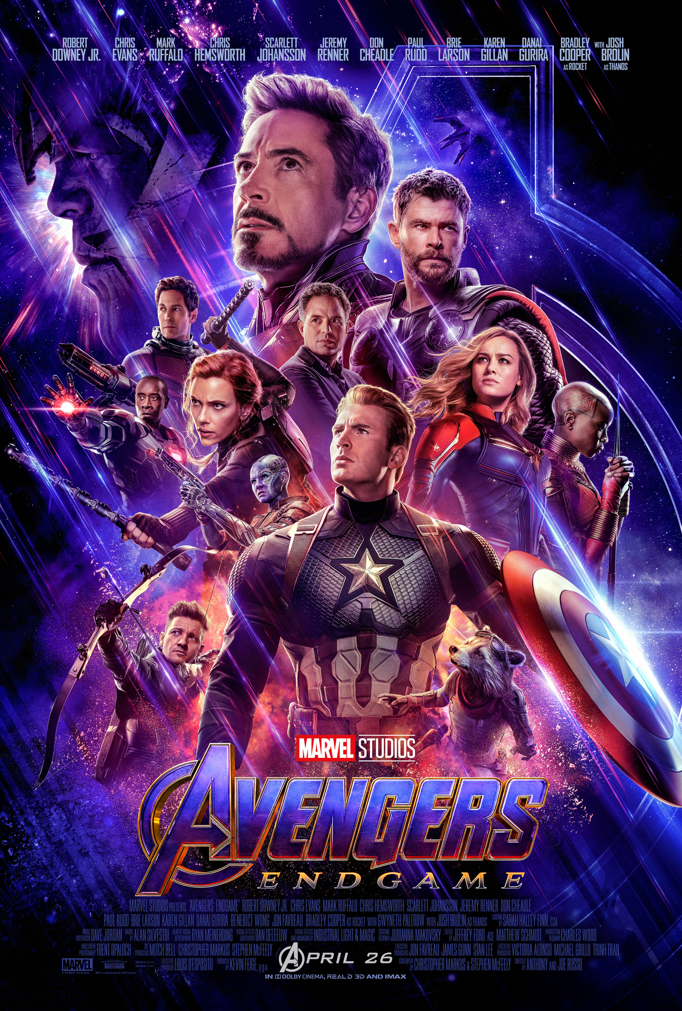 Thumbnail for Avengers: Endgame - AV Mixed Campaign