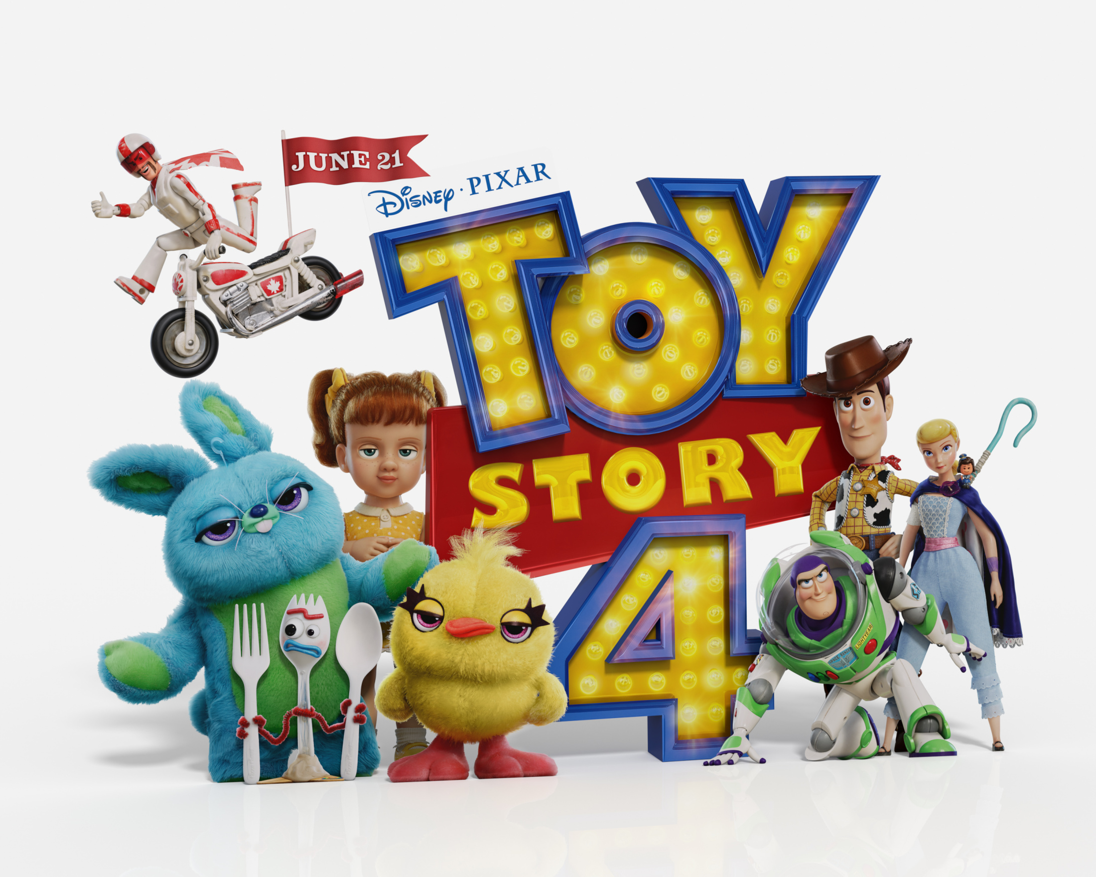 Image Media for Toy Story 4 In-Theatre Standee