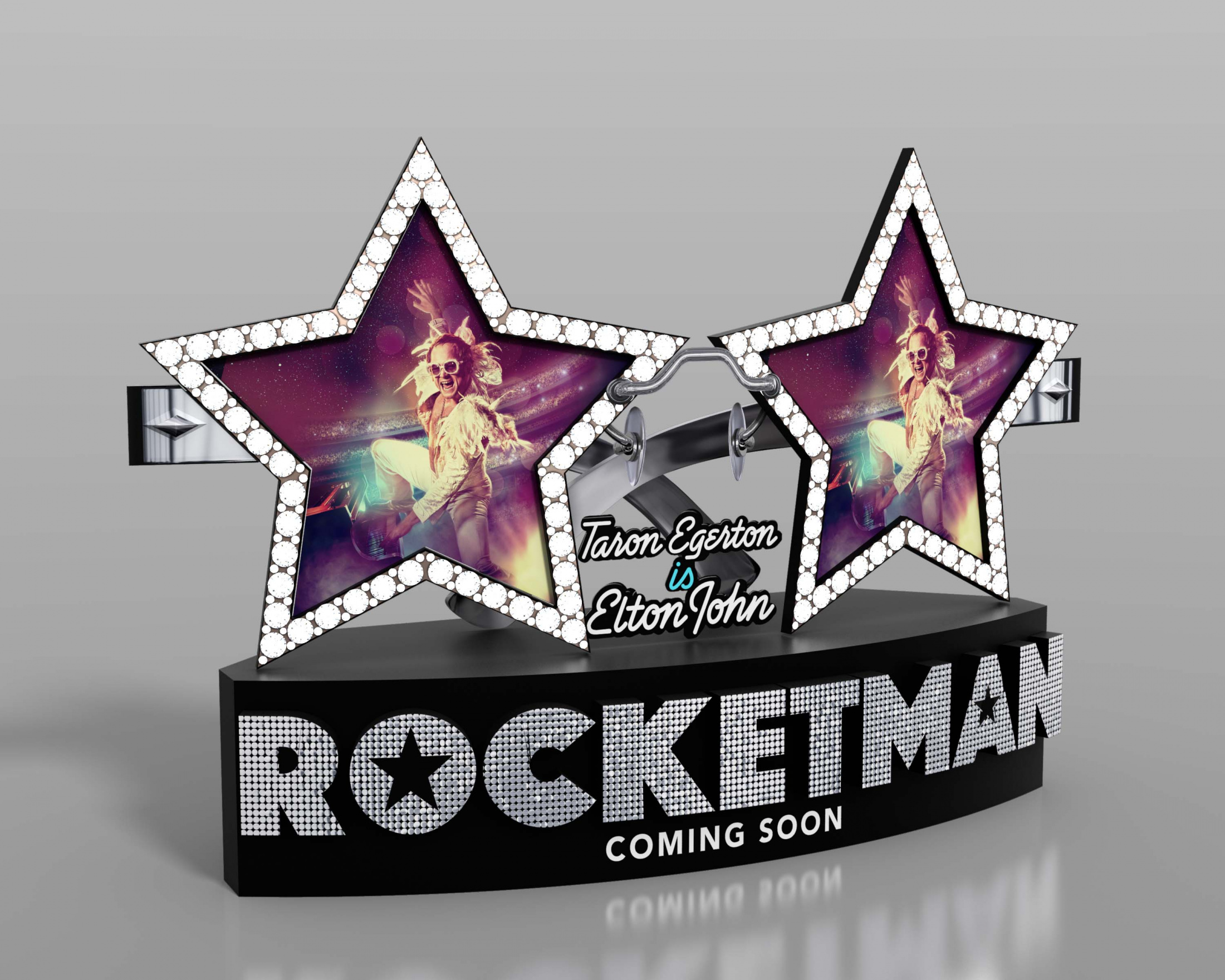 Thumbnail for Rocketman International In-Theatre Standee