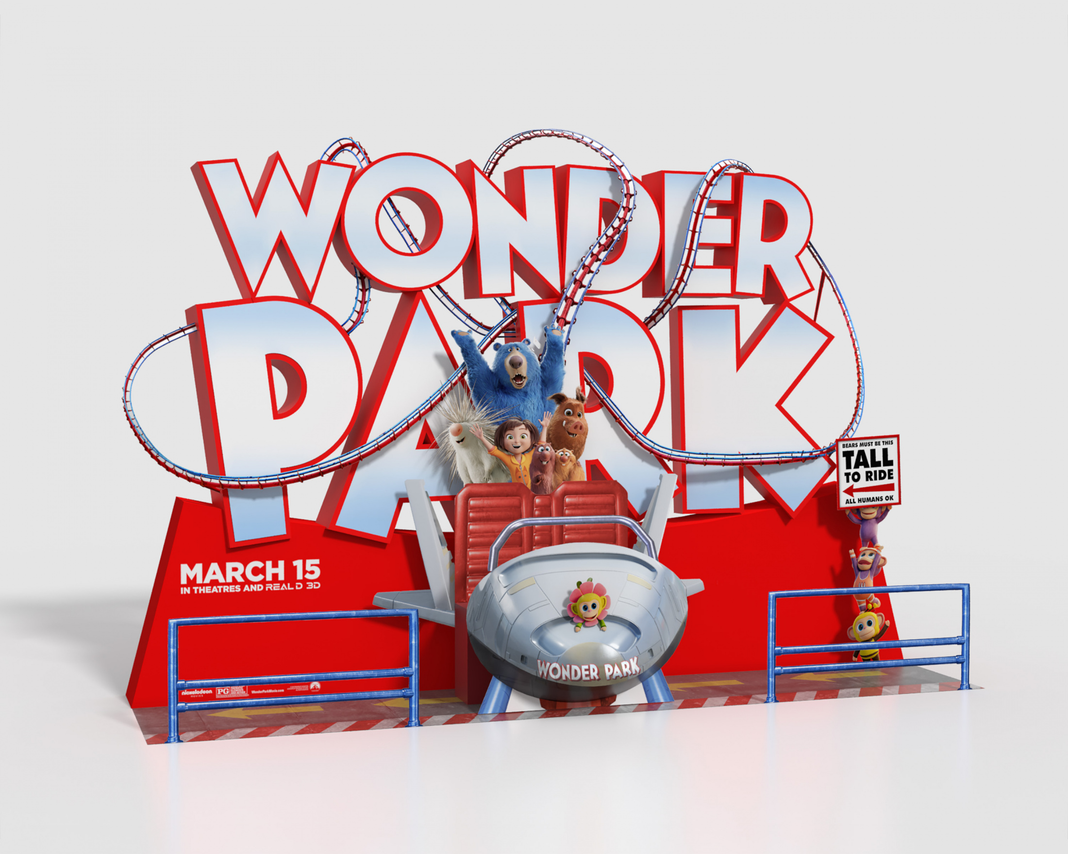 Thumbnail for Wonder Park In-Theatre Standee