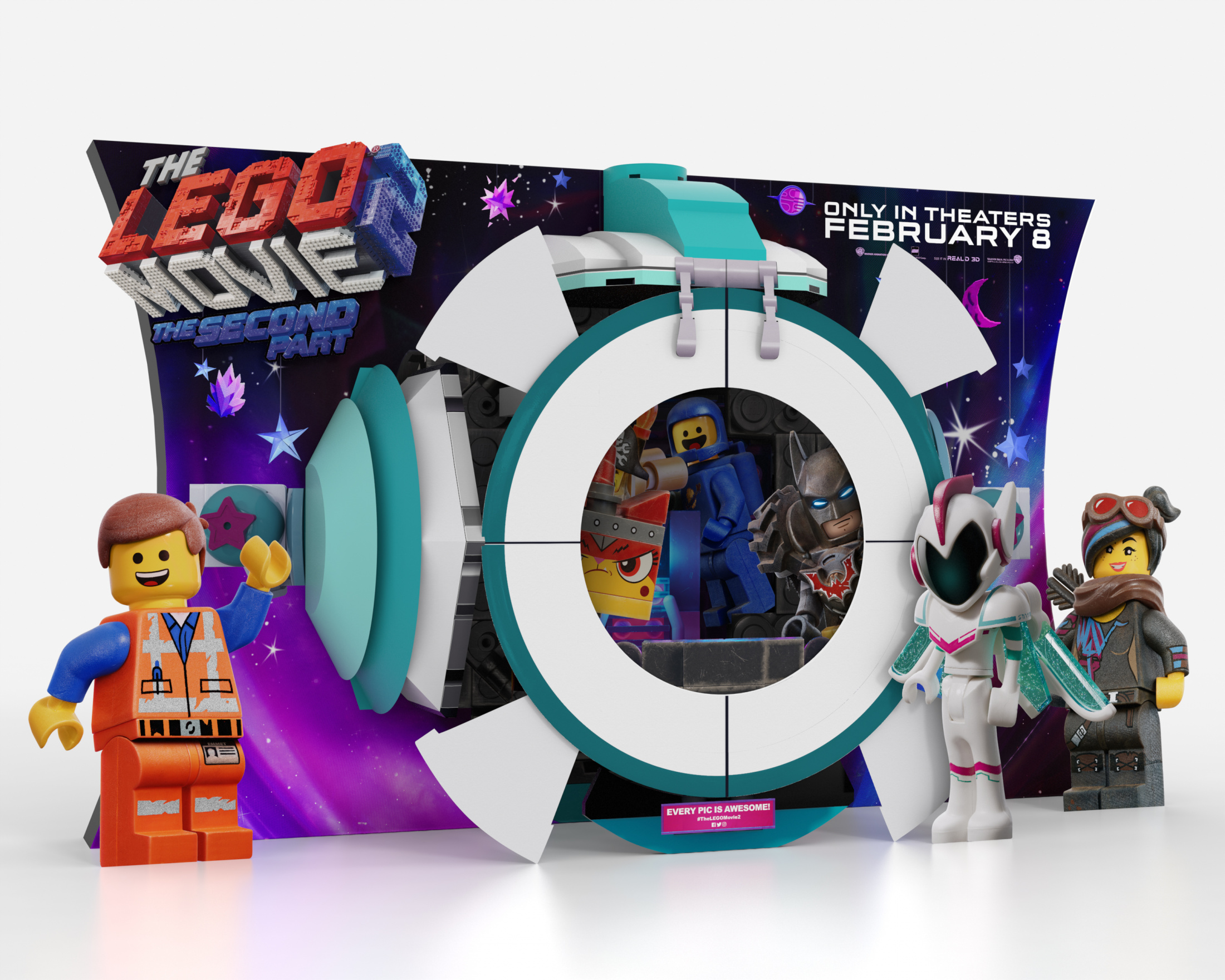 Thumbnail for The Lego Movie 2: The Second Part In-Theatre Standee