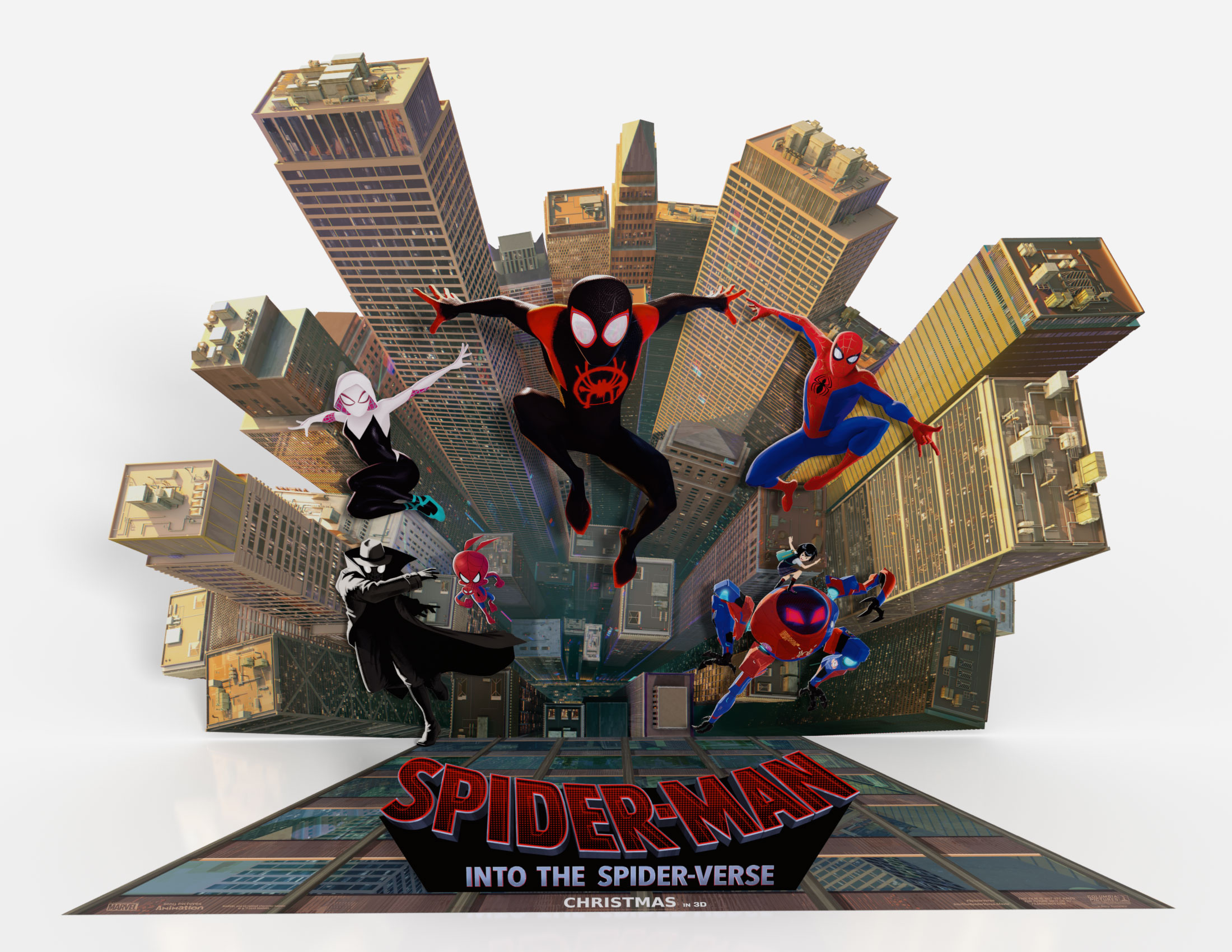 Thumbnail for Spider-Man: Into the Spider-Verse Standee