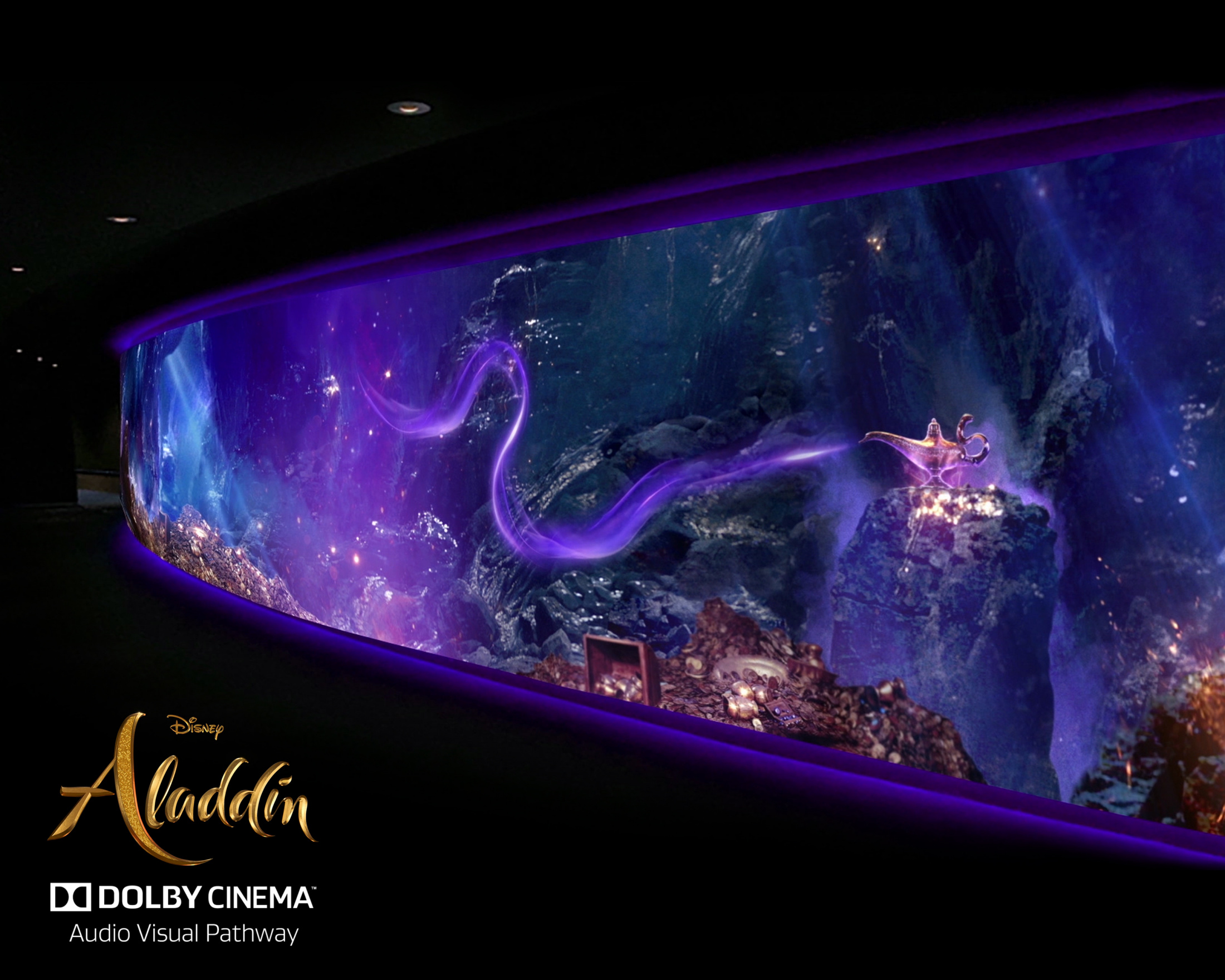 Aladdin - Dolby Theater Audio Visual Pathway Thumbnail