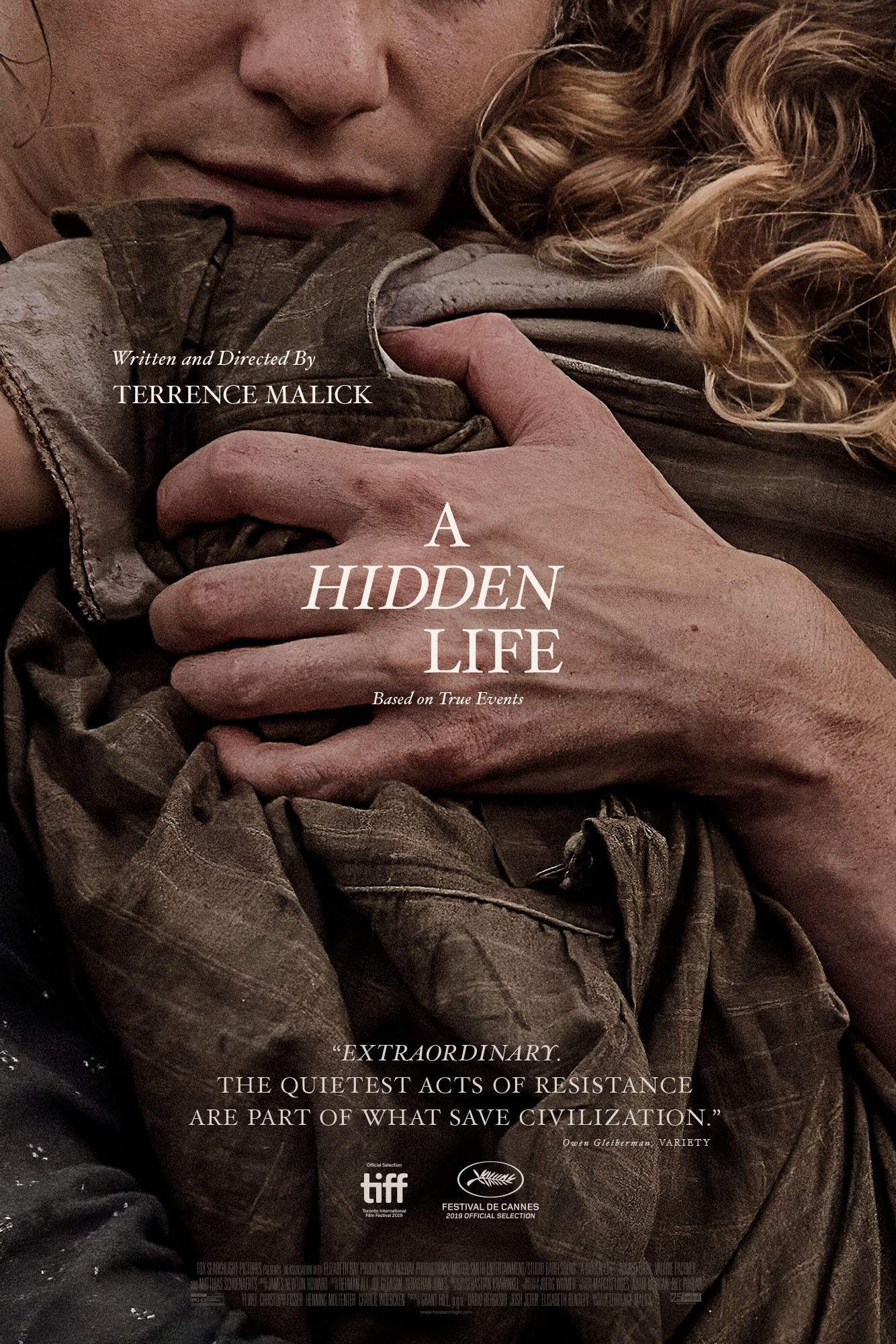 Image Media for A Hidden Life One-Sheet
