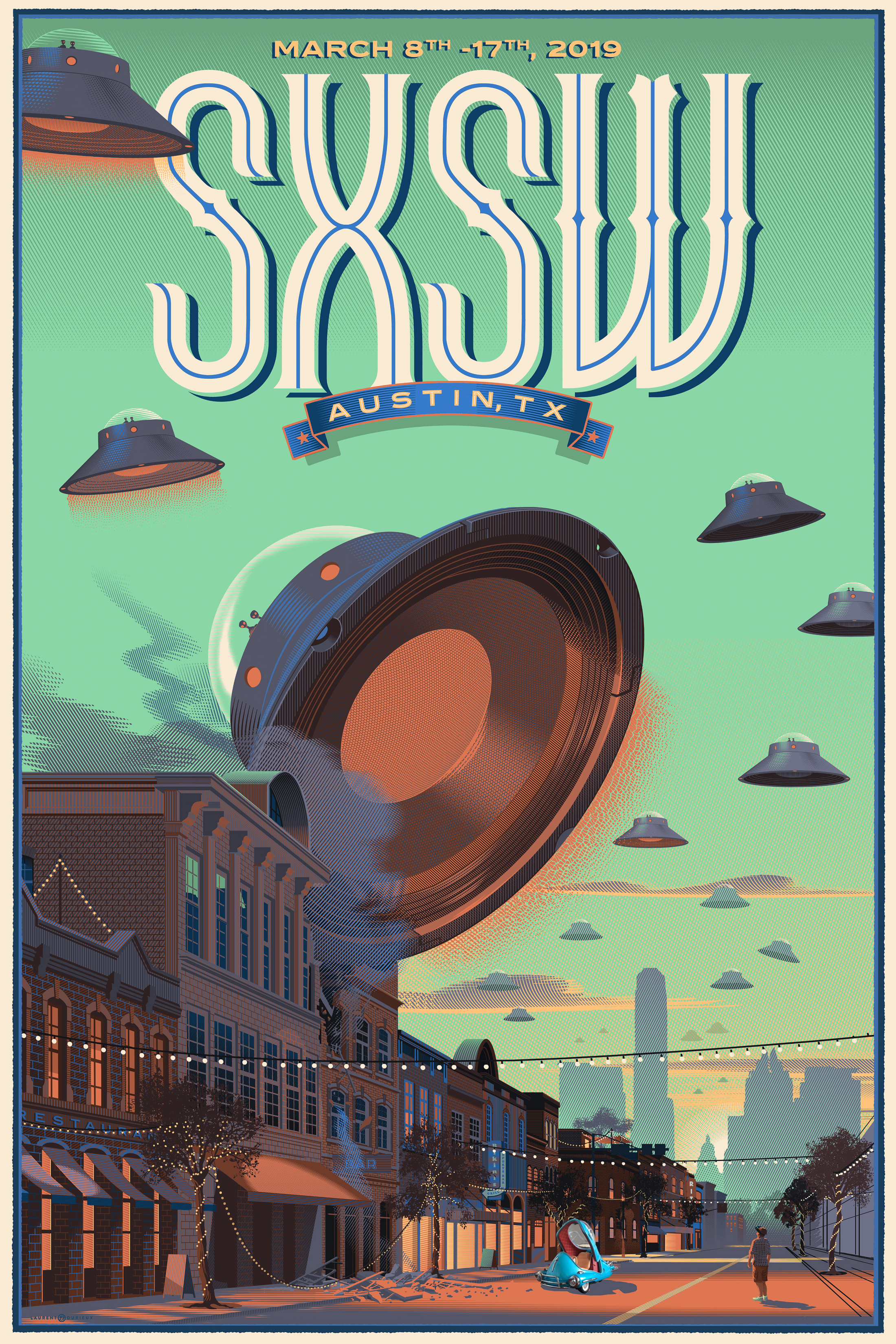 Thumbnail for  2019 SOUTH BY SOUTHWEST OFFICIAL POSTER