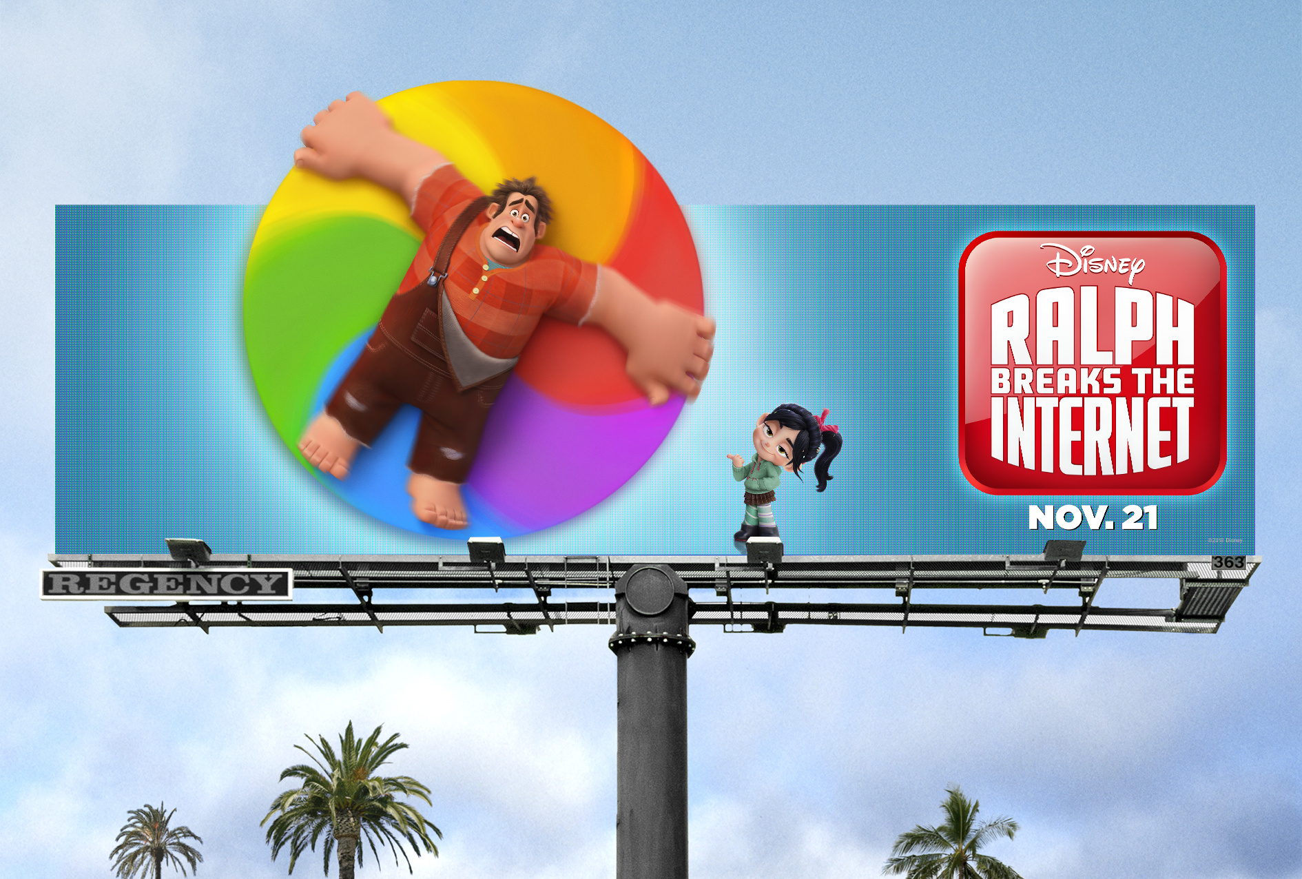 Image Media for Ralph Breaks the Internet Out of Home