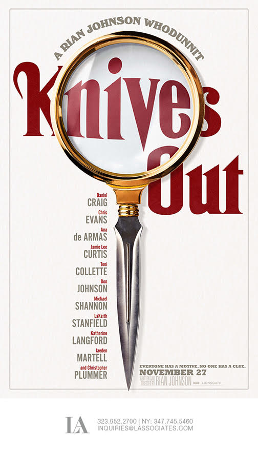 Thumbnail for KNIVES OUT Motion Poster
