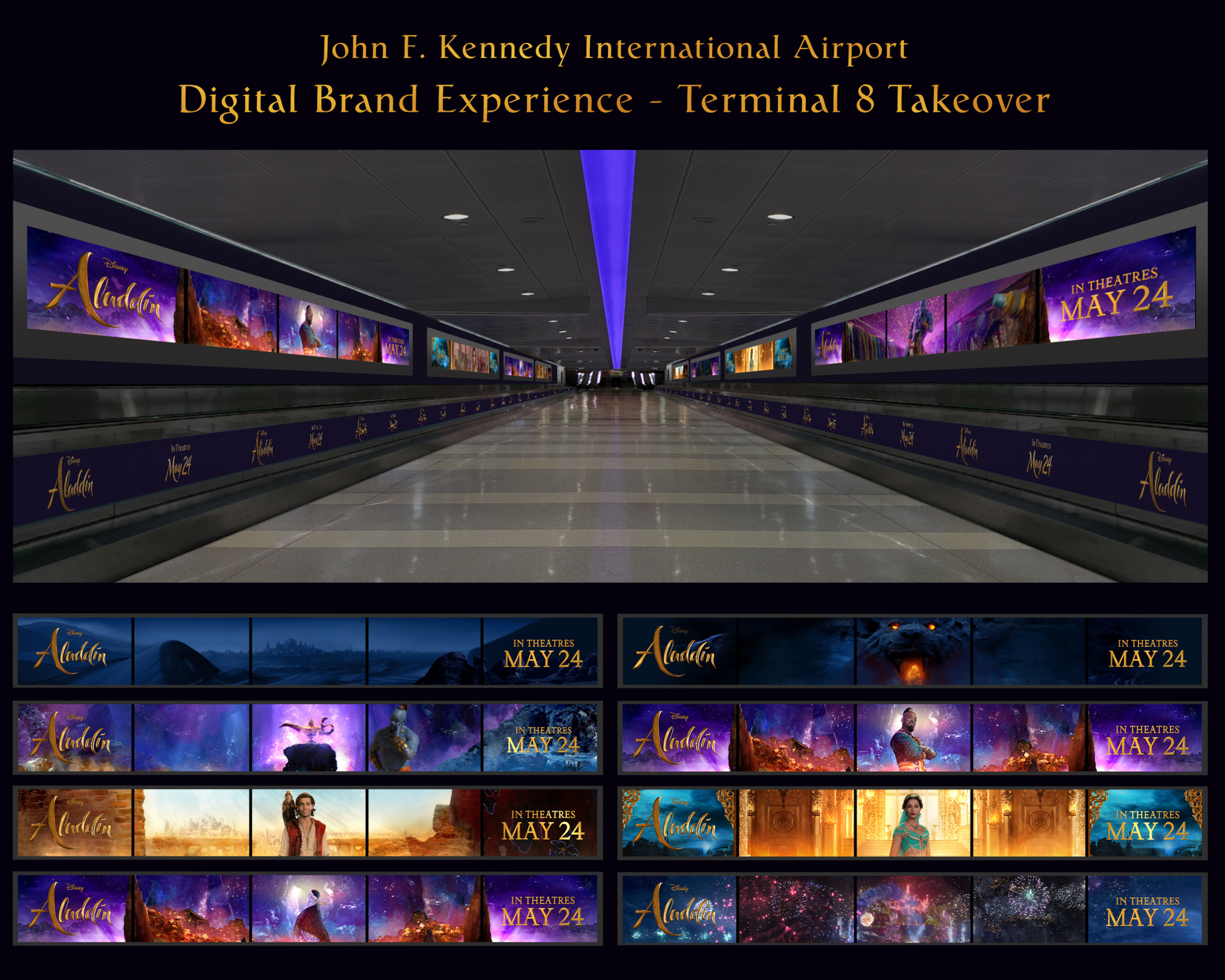 Thumbnail for Aladdin - JFK Airport Terminal Takeover
