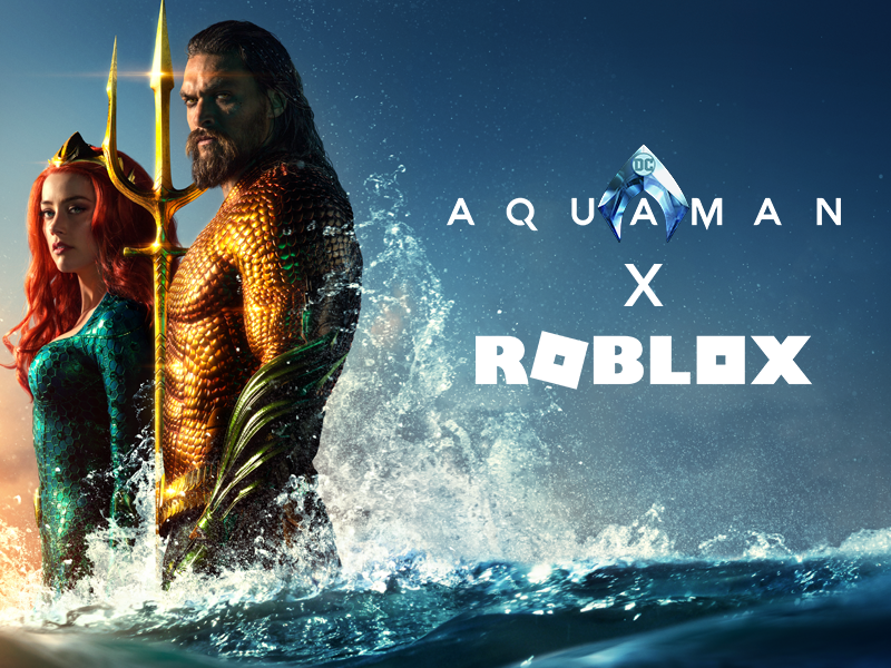 Thumbnail for Aquaman & Roblox Partnership