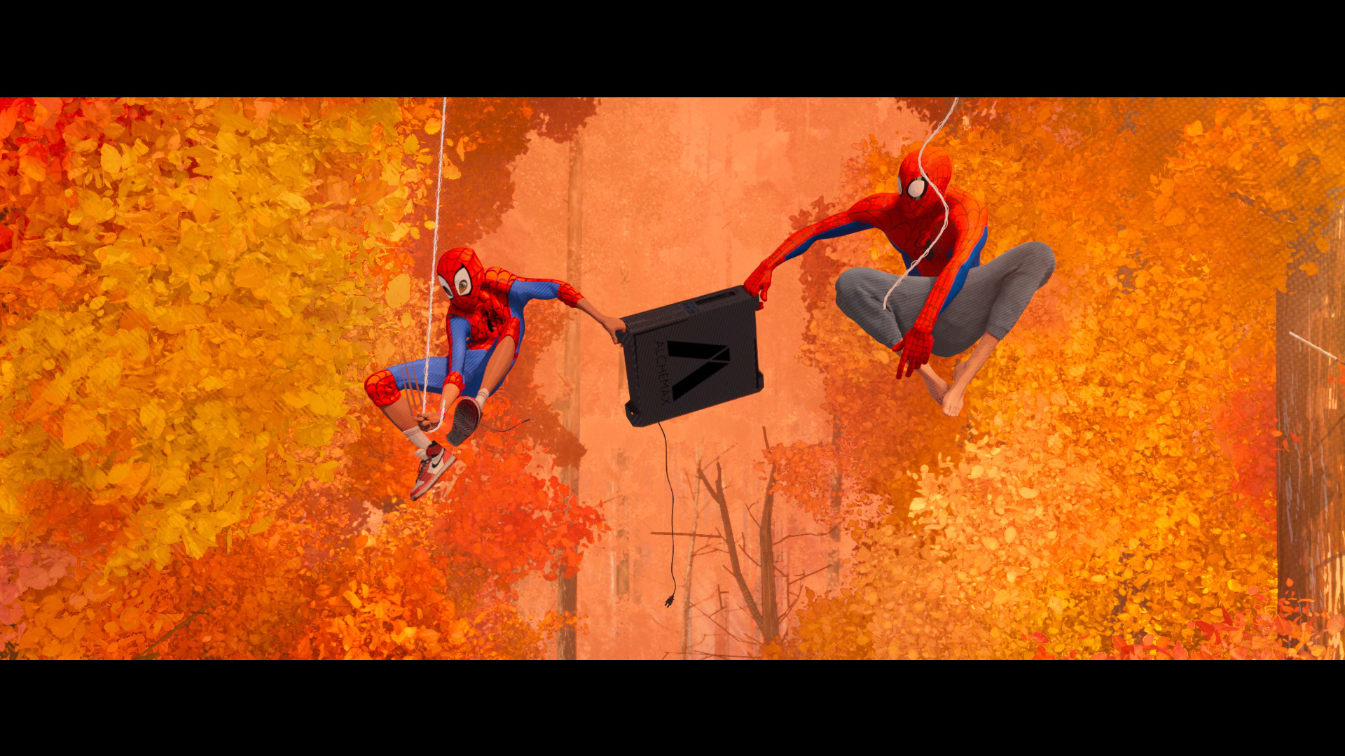 "Image Media for Spider-Man: Into the Spider-Verse - Trailer ""Swing"""