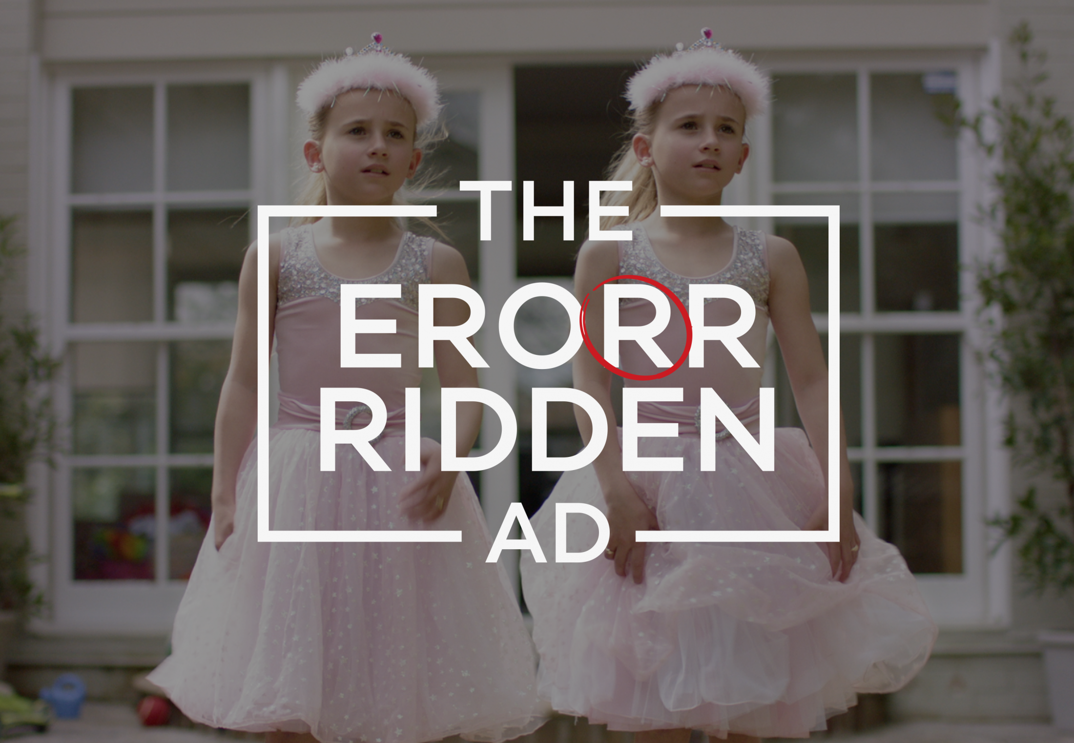 Image Media for Specsavers' The Error Ridden Ad