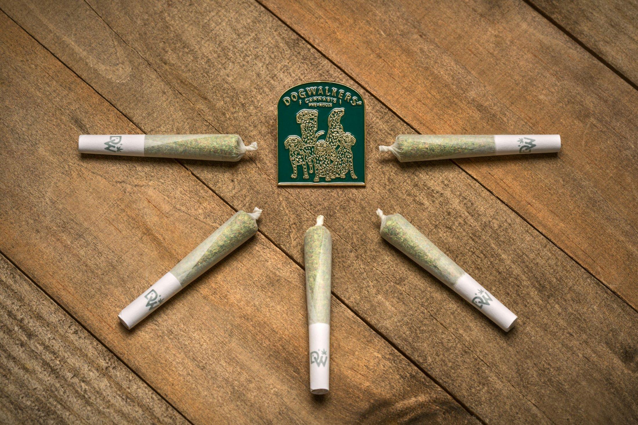 Dogwalkers: Your Loyal Cannabis Companion.