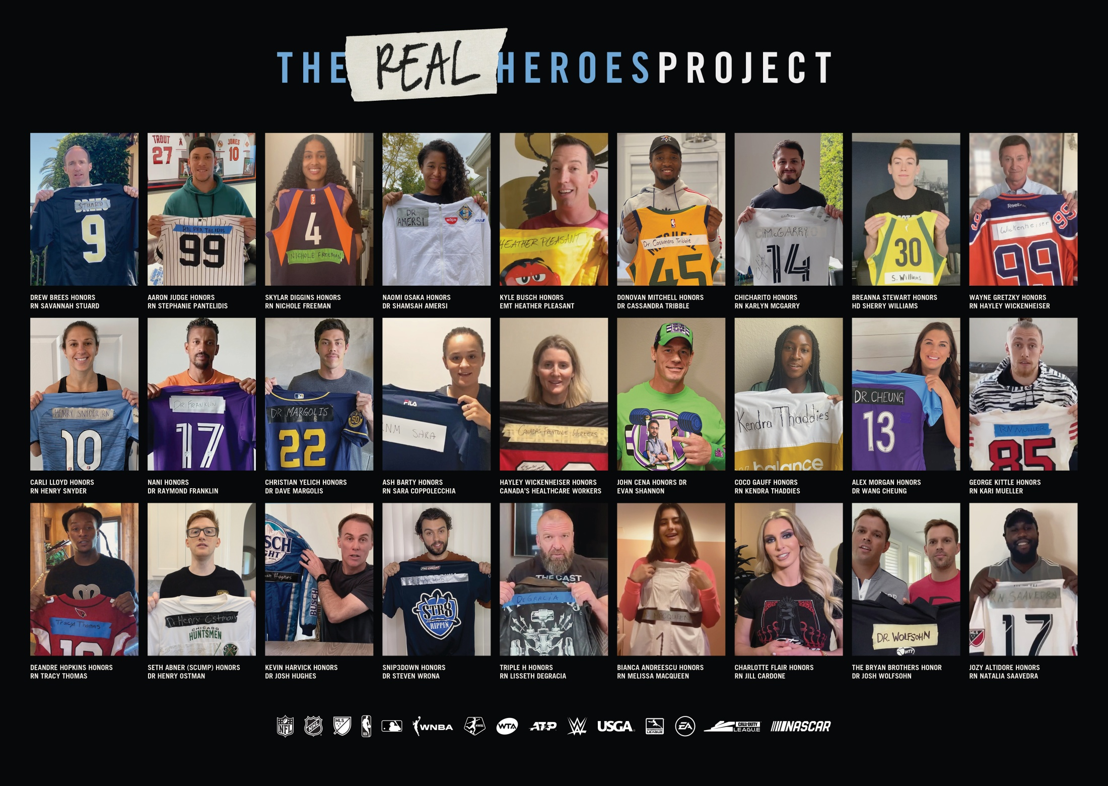 Thumbnail for #TheRealHeroes Project