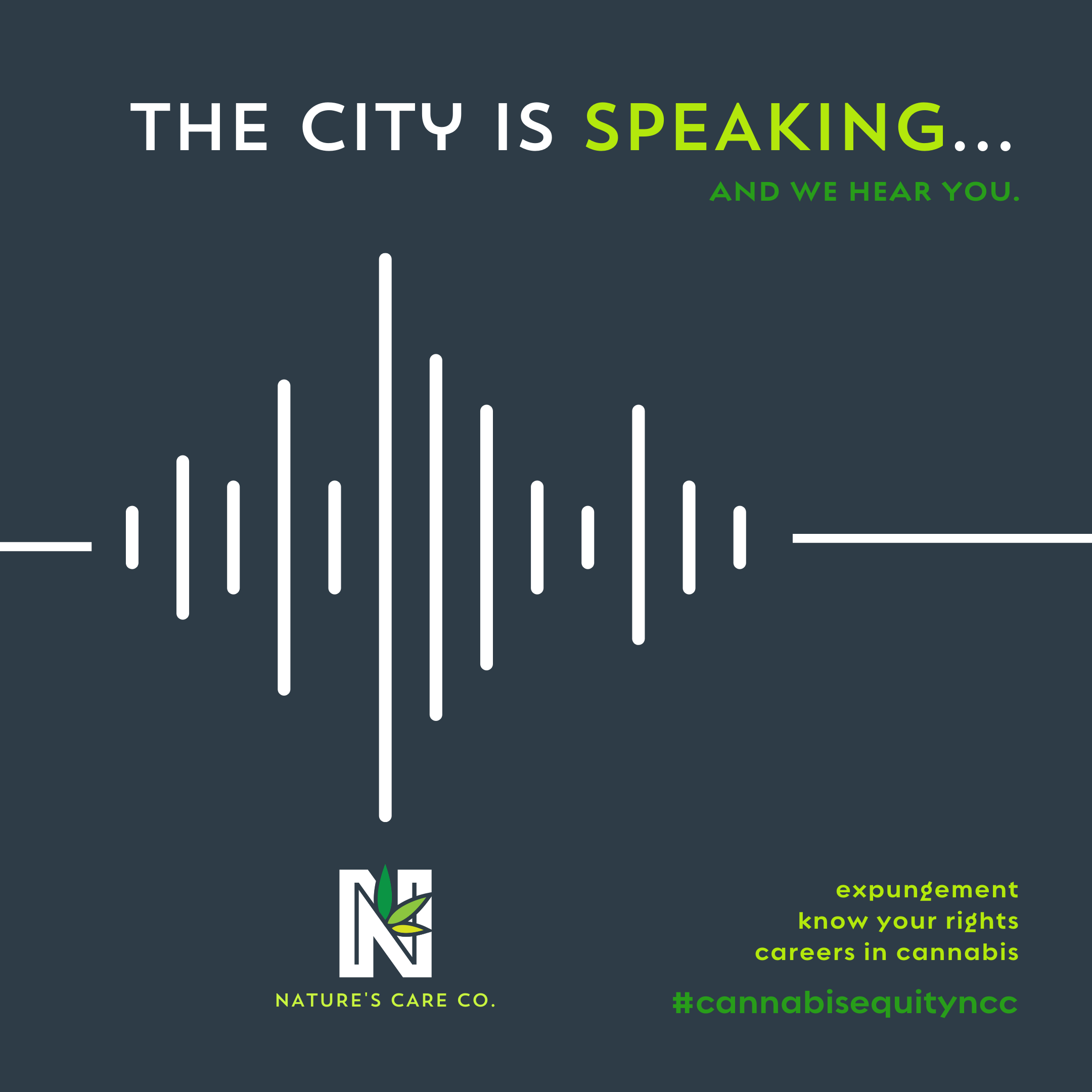 """Nature's Care Company (""""Nature's Care""""): The City is Speaking. And We Hear You."""