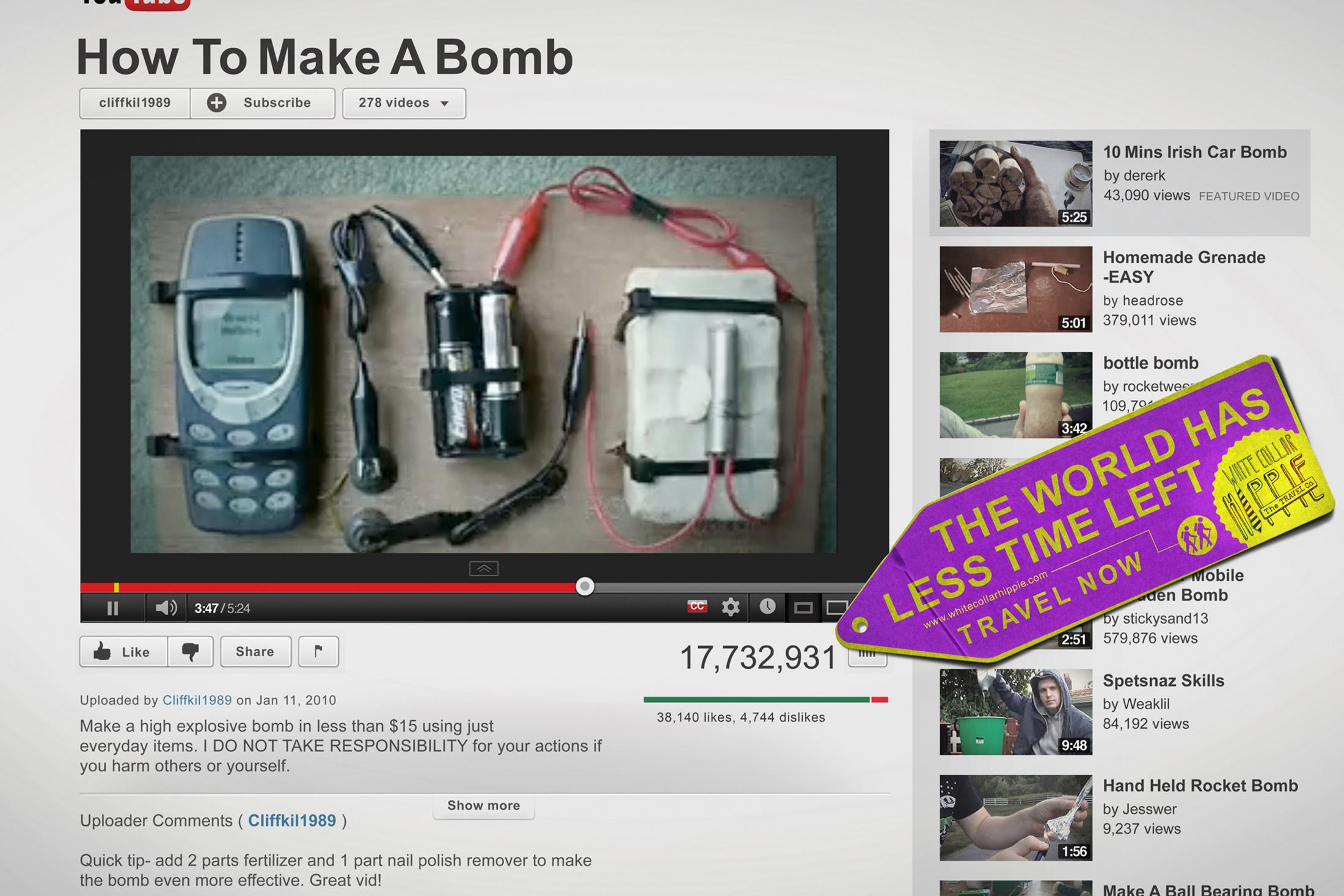 Thumbnail for HOW TO - BOMB