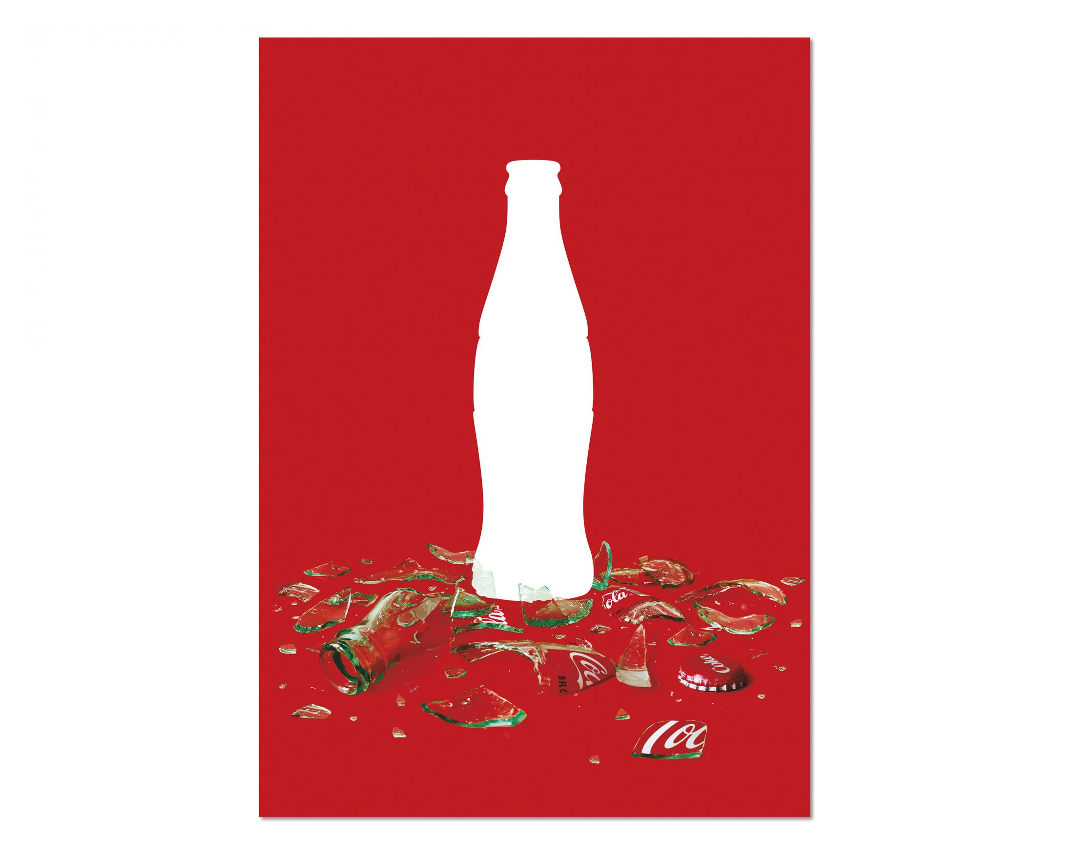 Thumbnail for Coca-Cola 100 contour posters