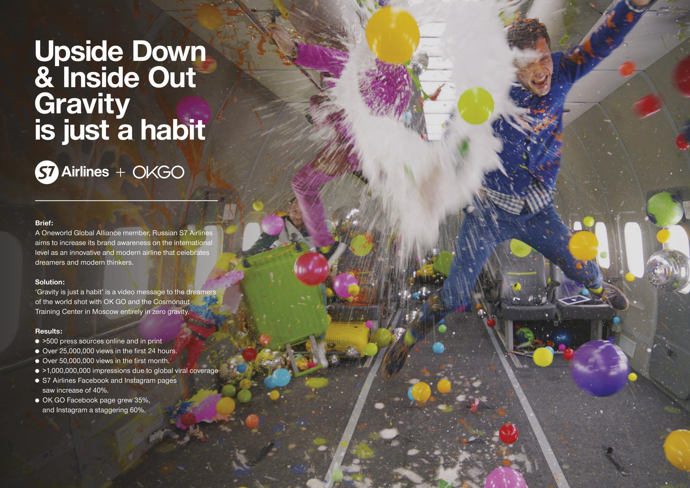 Thumbnail for OK GO — Upside Down & Inside Out #GravitysJustAHabit