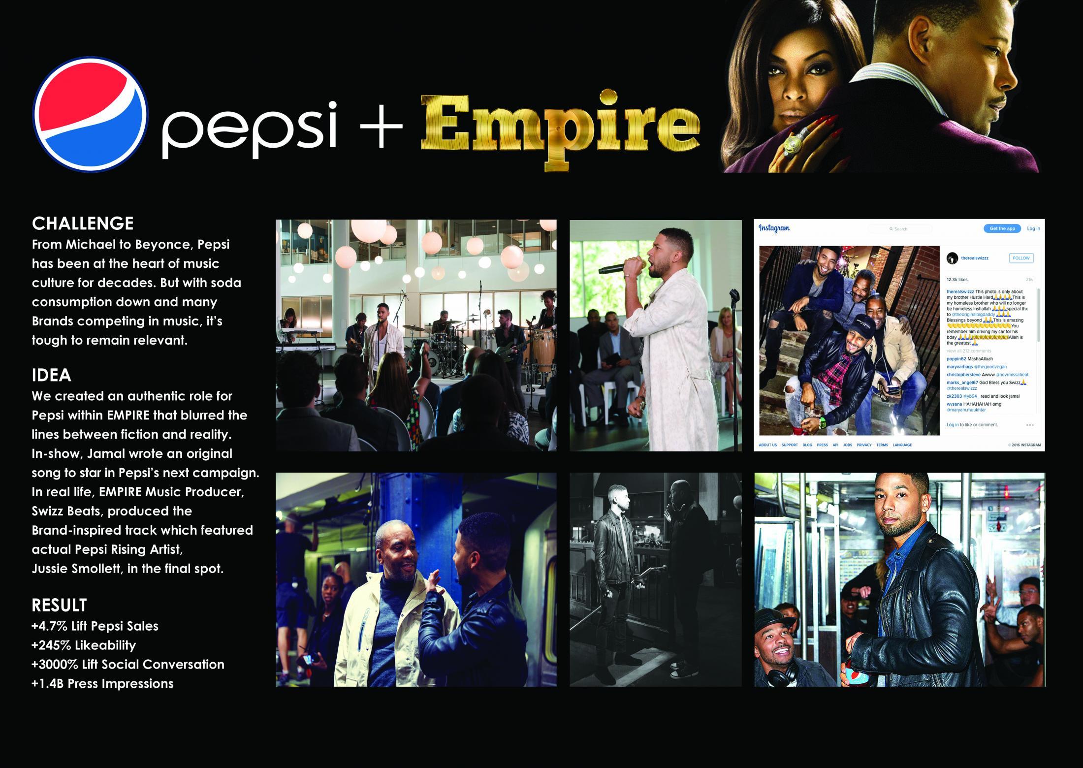 Thumbnail for Pepsi + EMPIRE Partnership
