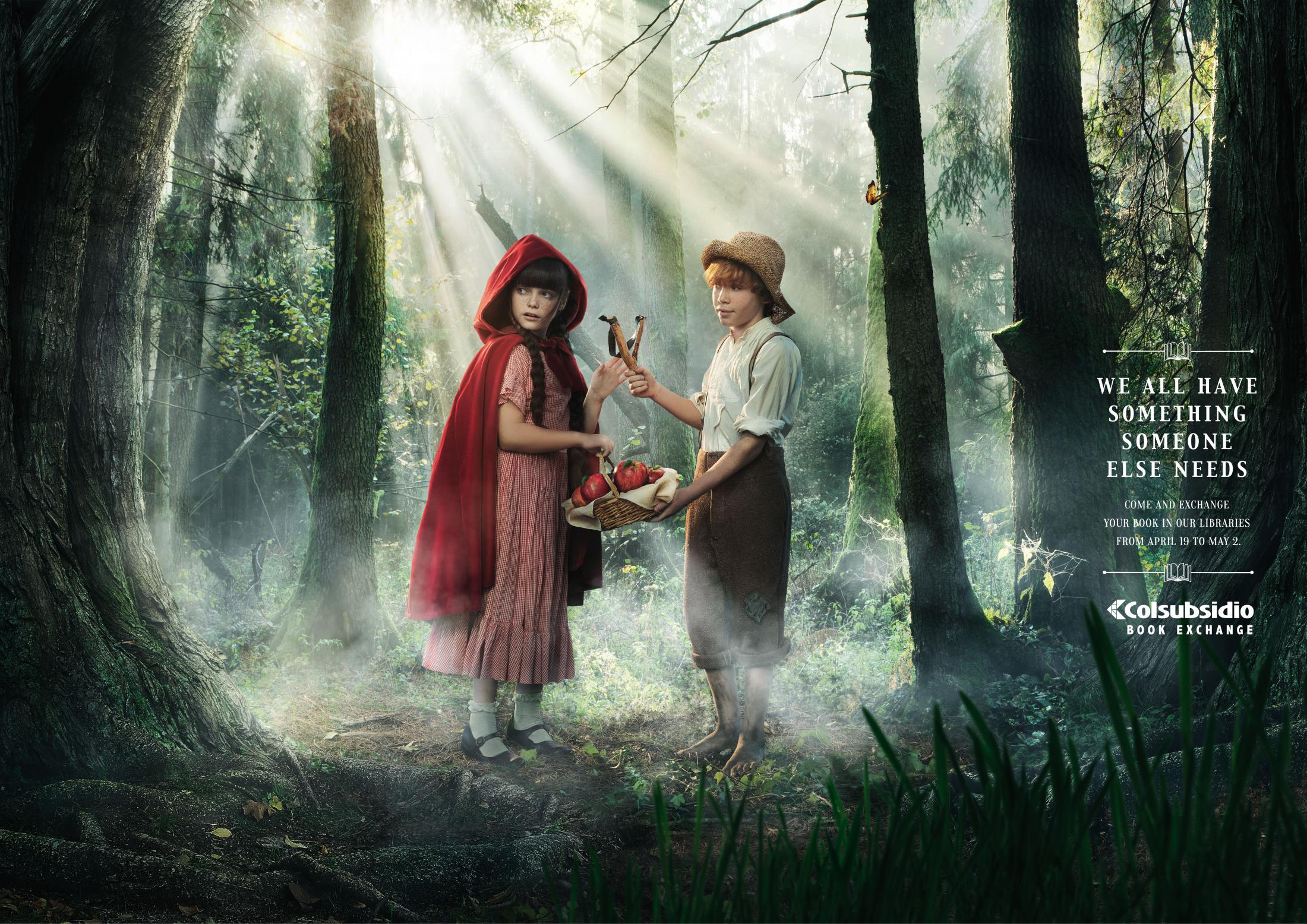 Thumbnail for Exchanges - the little red riding hood/Tom Sawyer