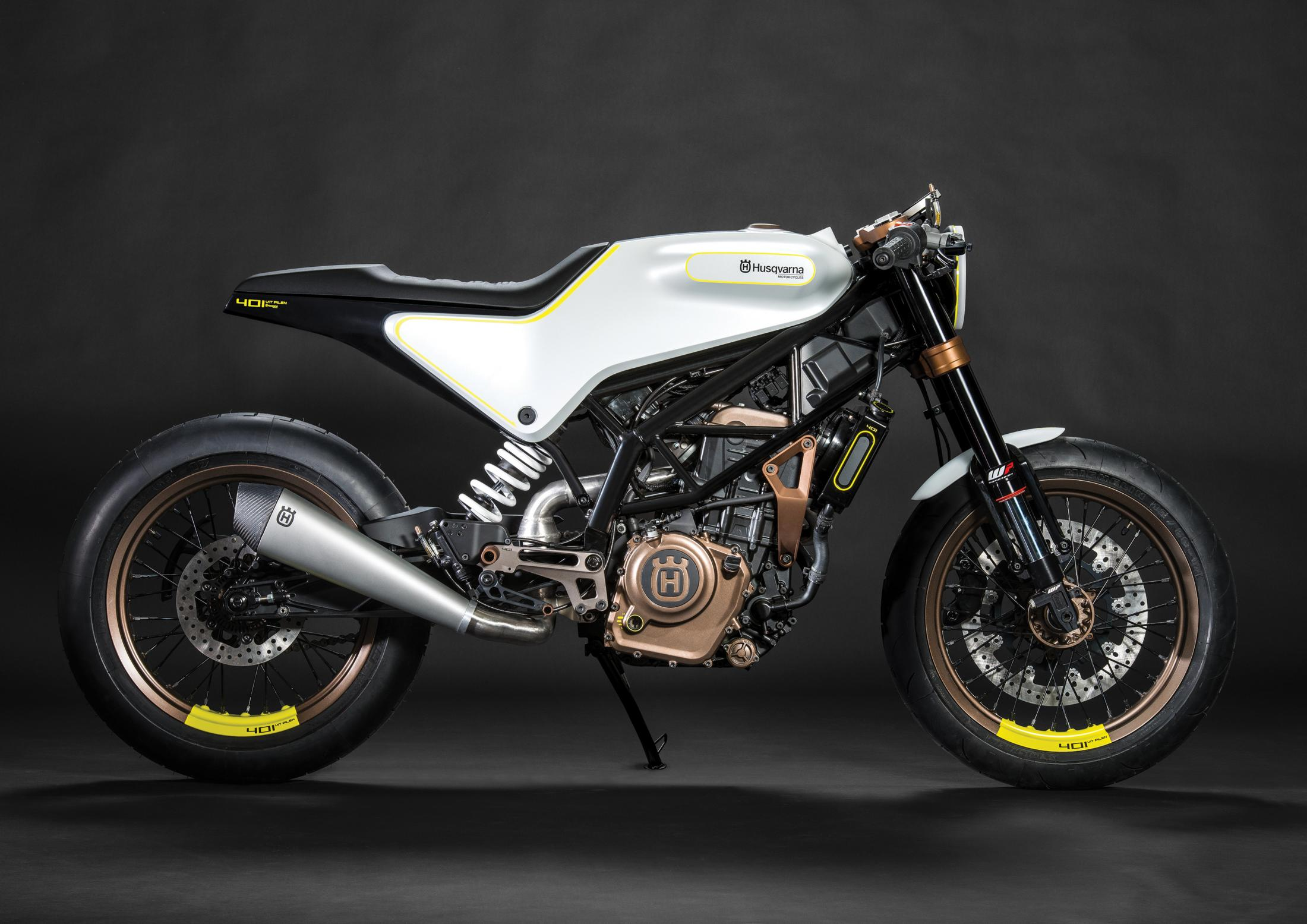 Thumbnail for Husqvarna Motorcycles VITPILEN 401 Concept