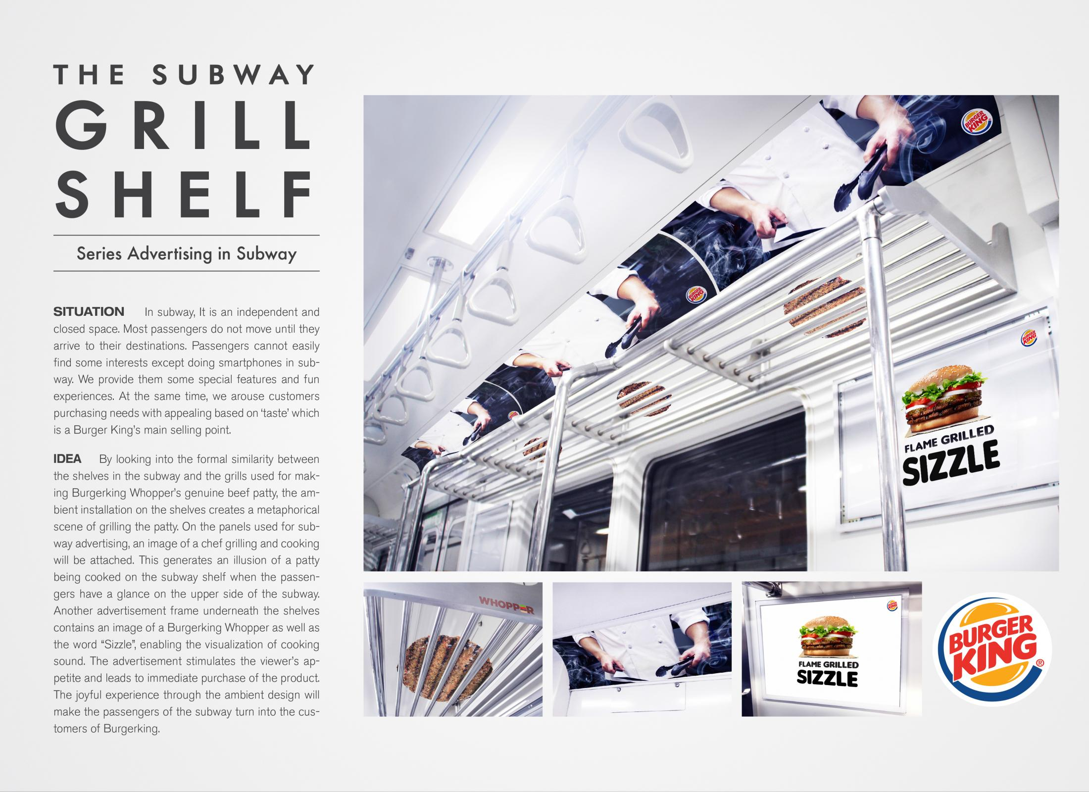Thumbnail for THE SUBWAY GRILL SHELF
