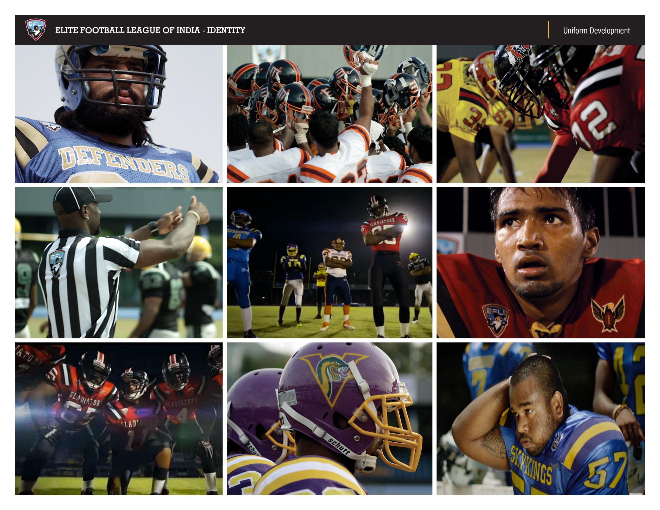 Thumbnail for Elite Football League of India Brand Identity