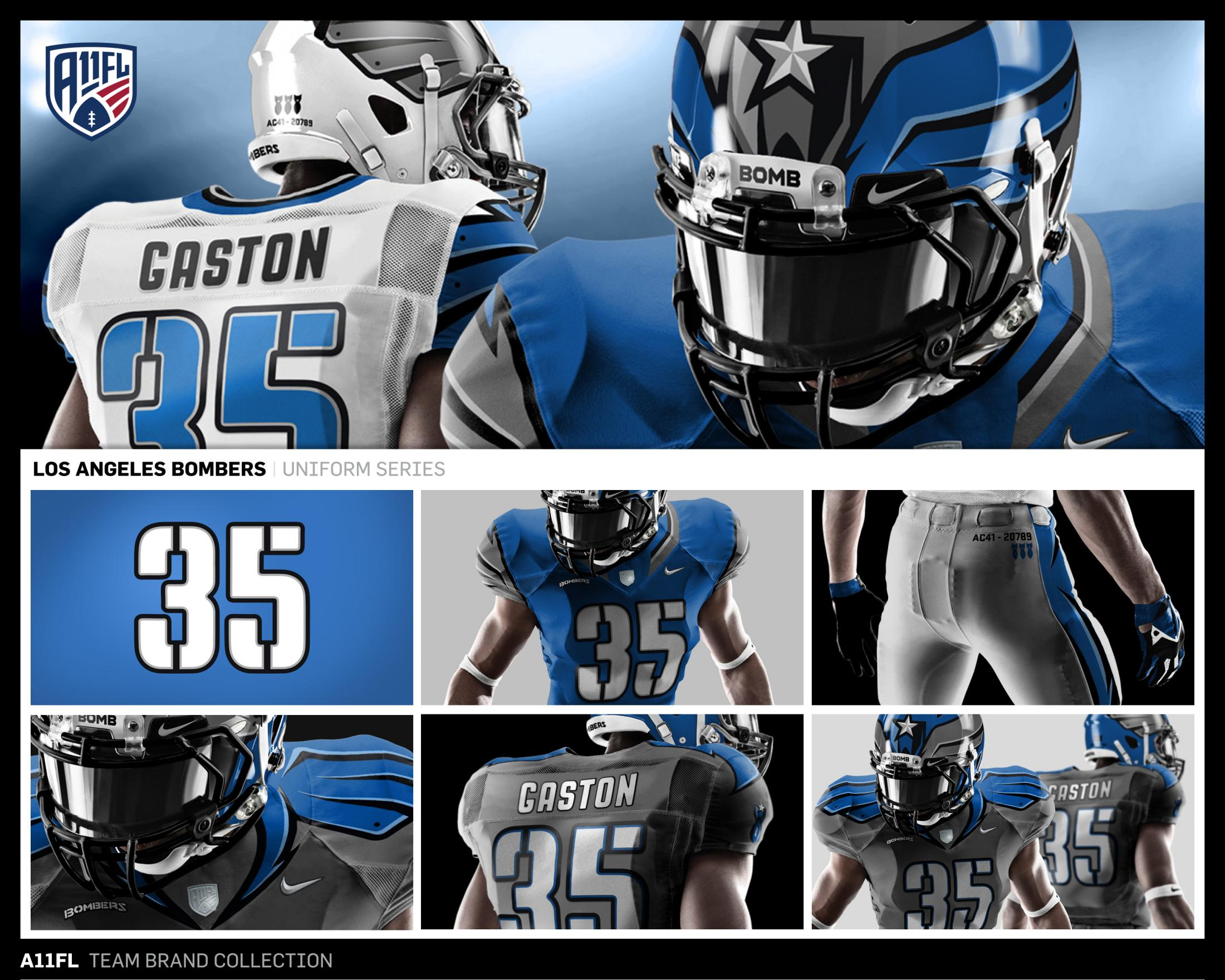 Thumbnail for A11 Football League Team Brand Collection