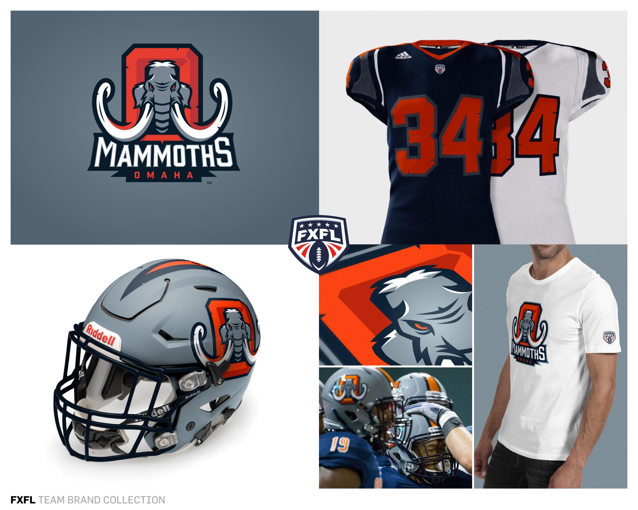 Thumbnail for FXFL League and Team Brand Identities