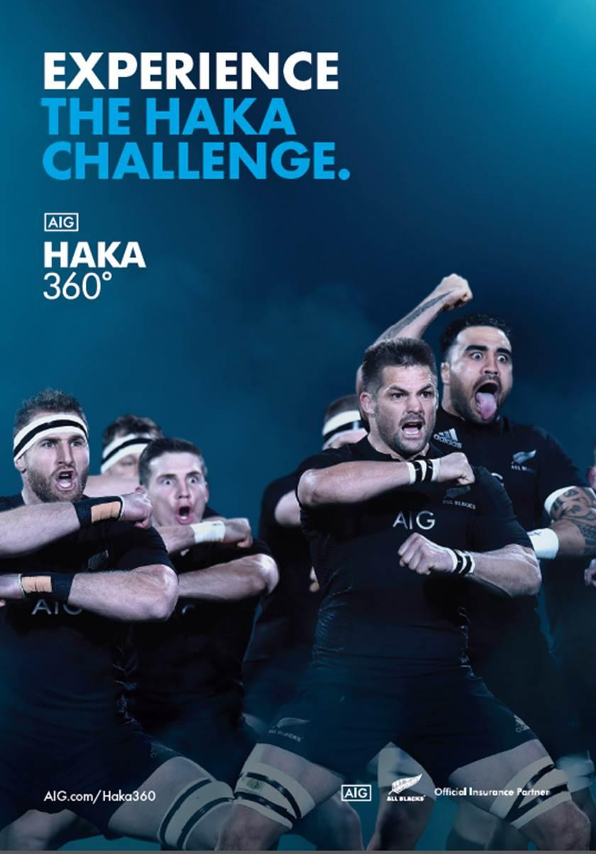 Thumbnail for AIG and The Haka 360 Experience