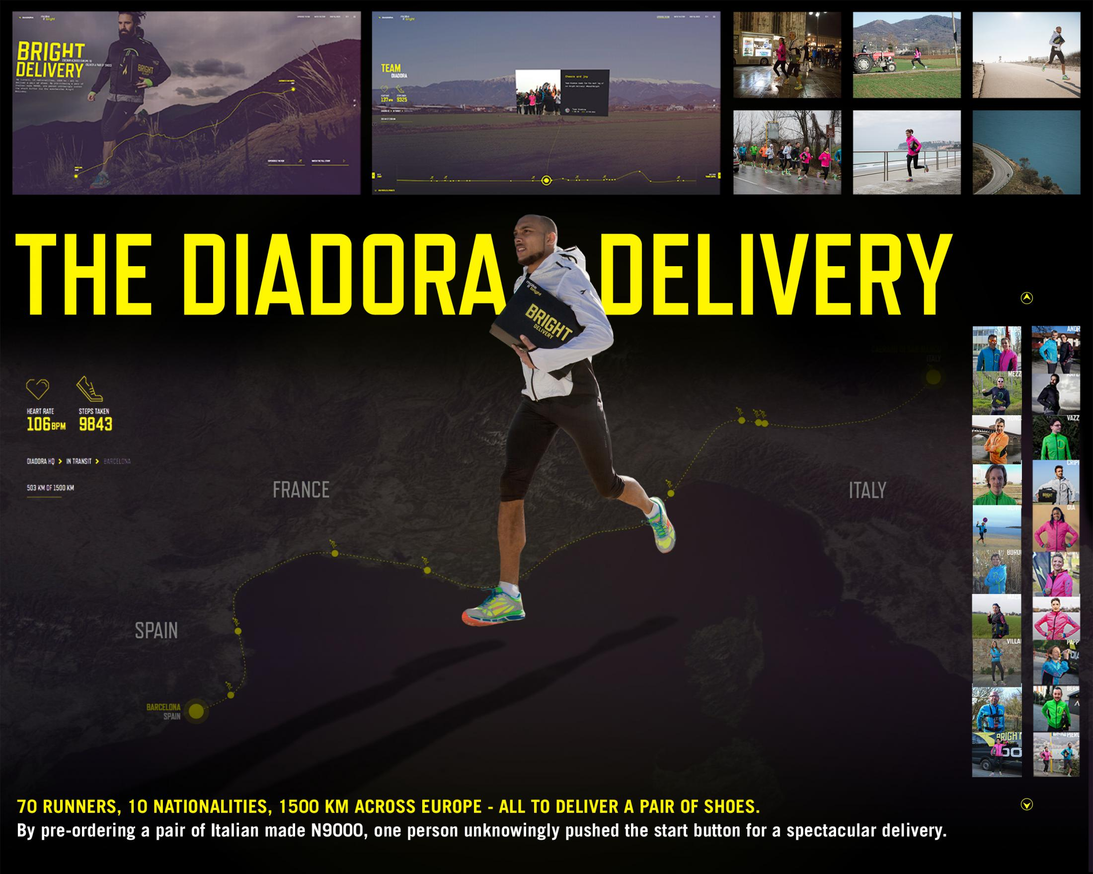 Thumbnail for The Diadora Delivery