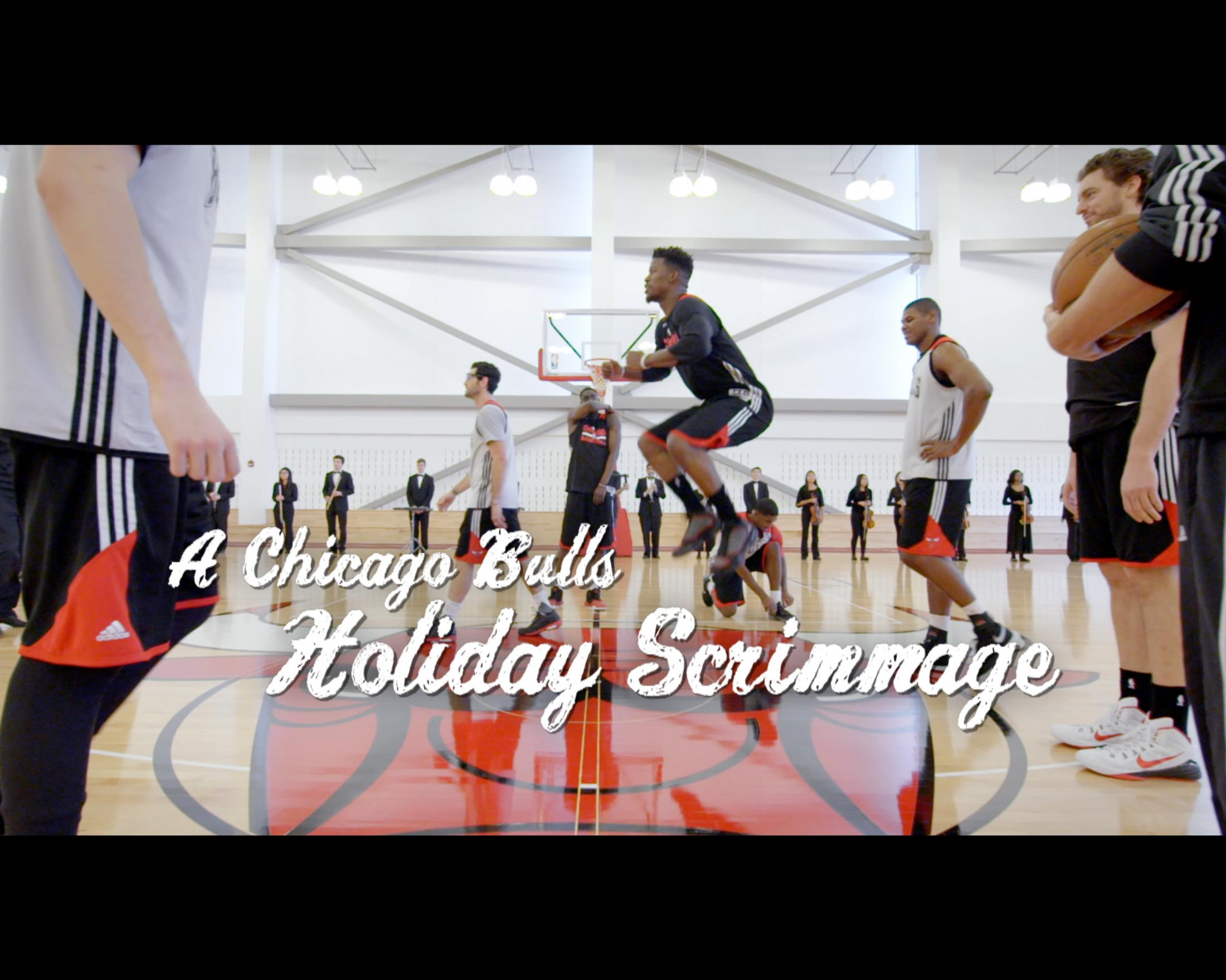 Image Media for A Chicago Bulls Holiday Scrimmage