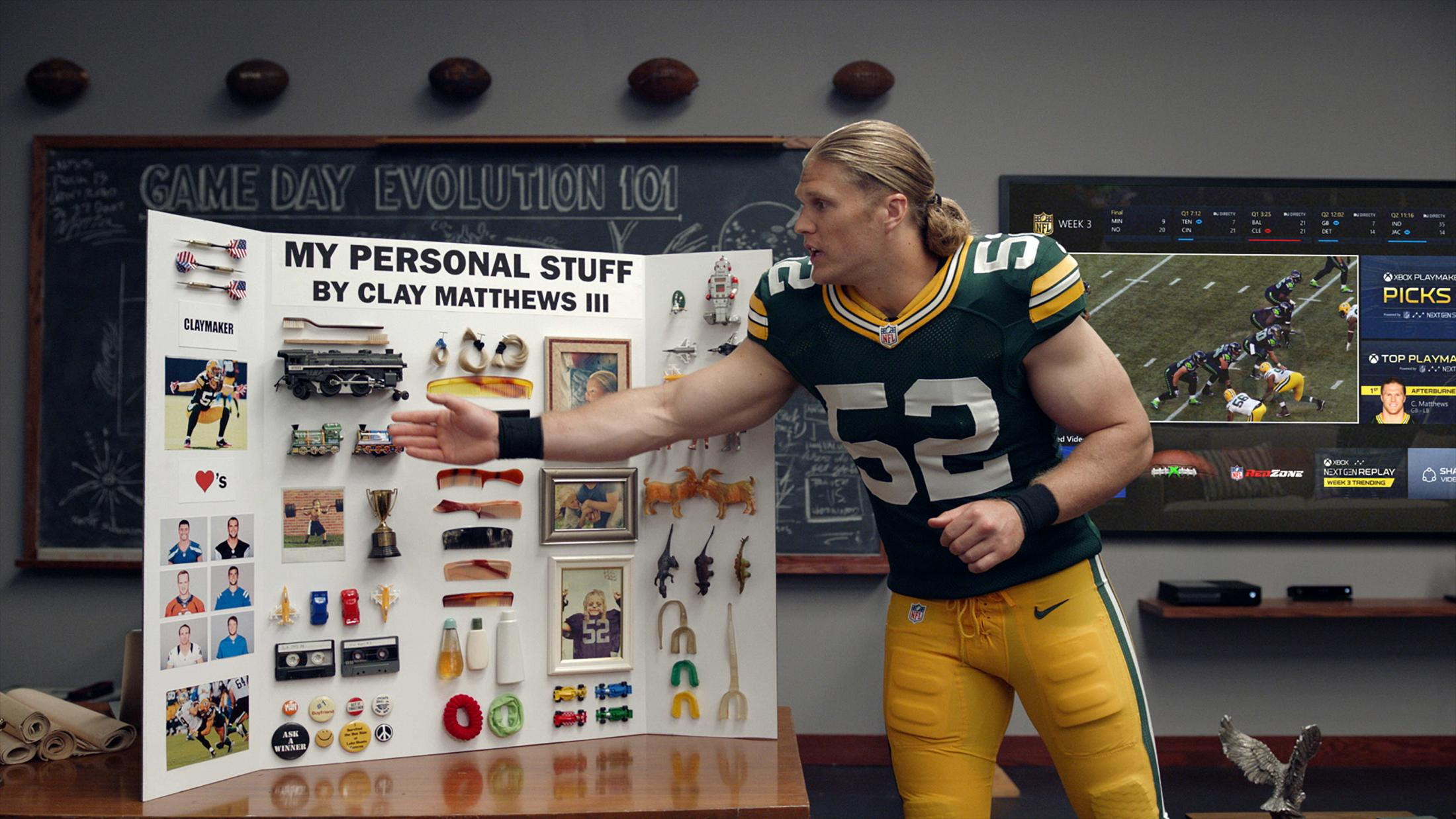 Image Media for Personalized Content with Clay Matthews III